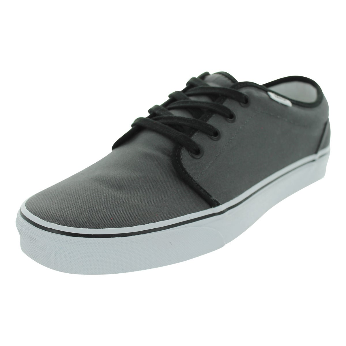 1ab72dd42a Shop Vans 106 Vulcanized Skate Shoes (Pewter Black) - Free Shipping ...