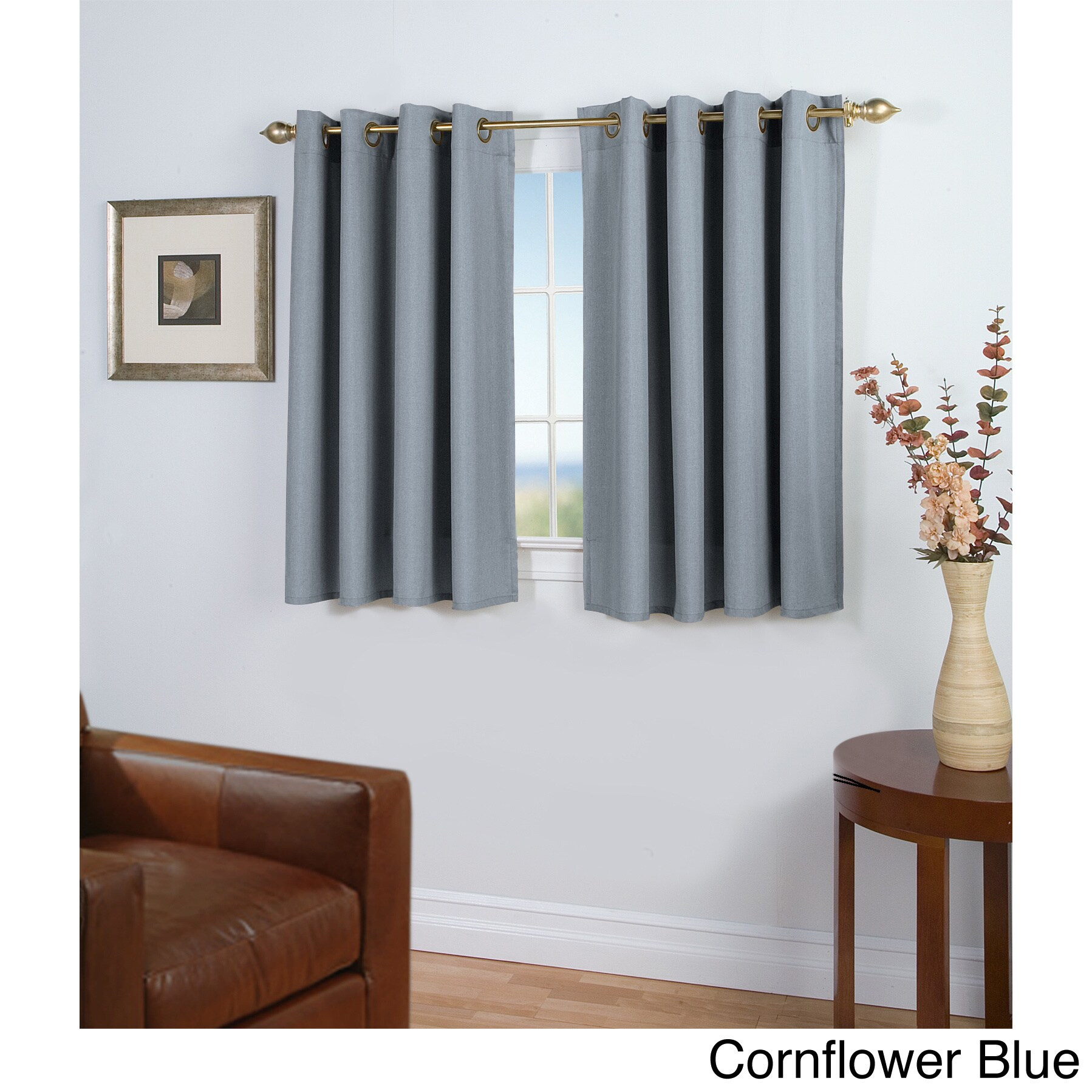 Shop Laurel Creek Clara Short Length Curtain Panel - Free Shipping ...