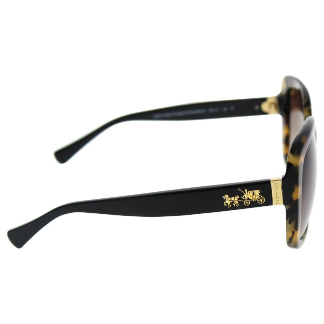 6d6d569e4cd Shop Coach HC8158 L139 532413 Dark Vintage Tortoise Womens Plastic Square  Sunglasses - Free Shipping Today - Overstock - 12343725