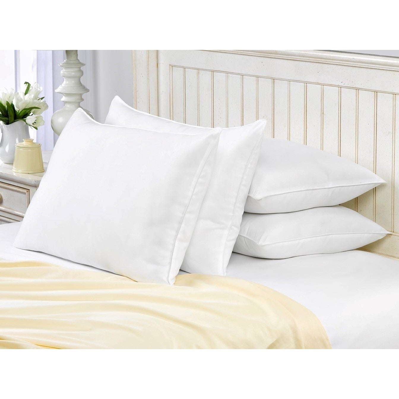pack size by king firm down bed with cotton goos aikoful feather and itm cover pillow piping fashionable res goose white