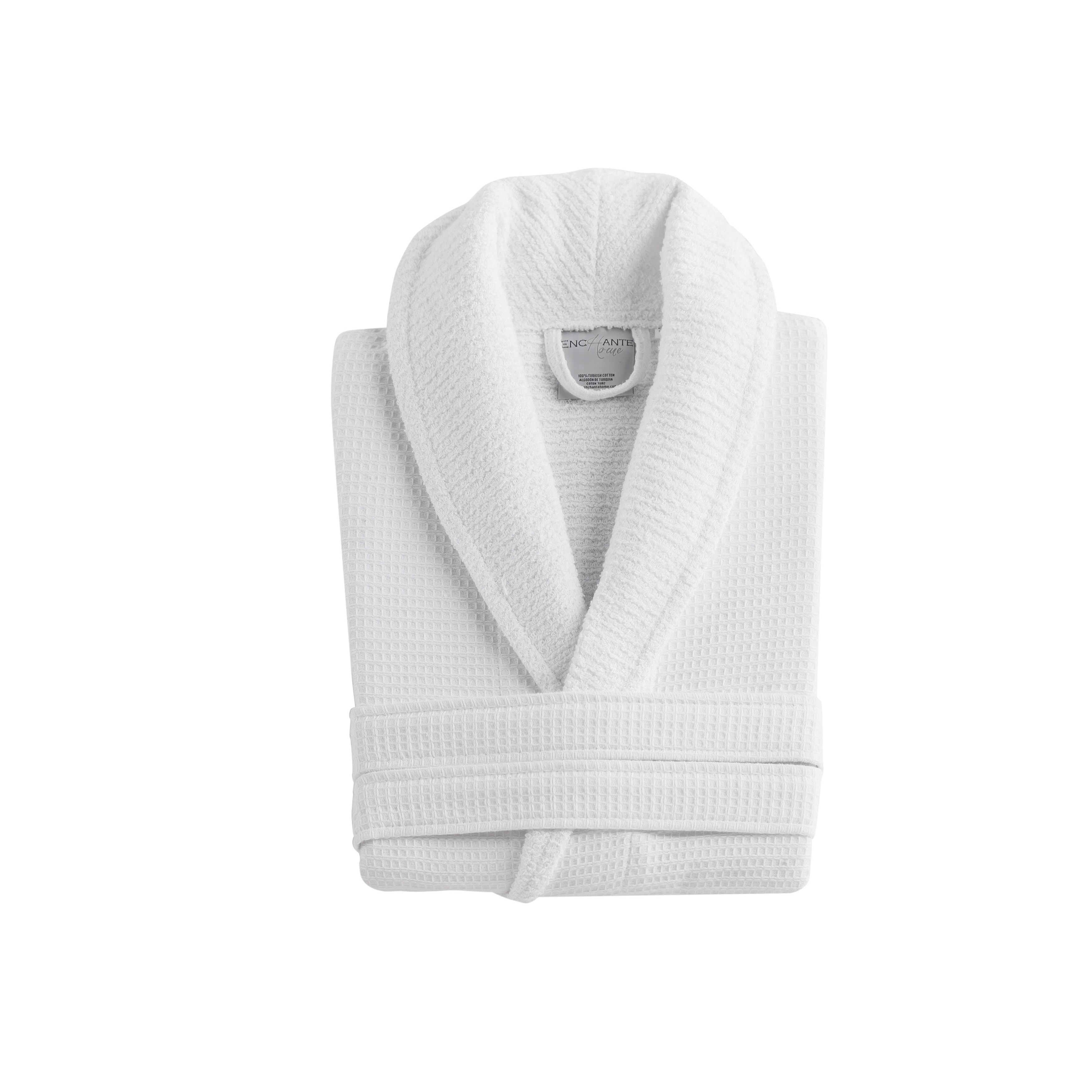 80645d6132 Shop Luxurious Waffle Terry Turkish Cotton Bath Robe - On Sale - Free  Shipping Today - Overstock - 12343797