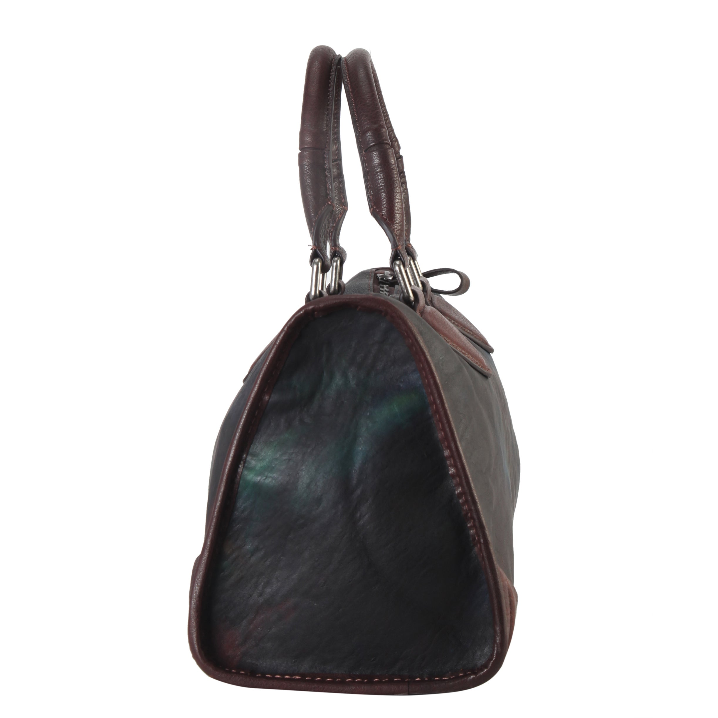 cc07115ae2c0 Diophy Distressed-style Genuine Leather Large Top-handle Tote Bag