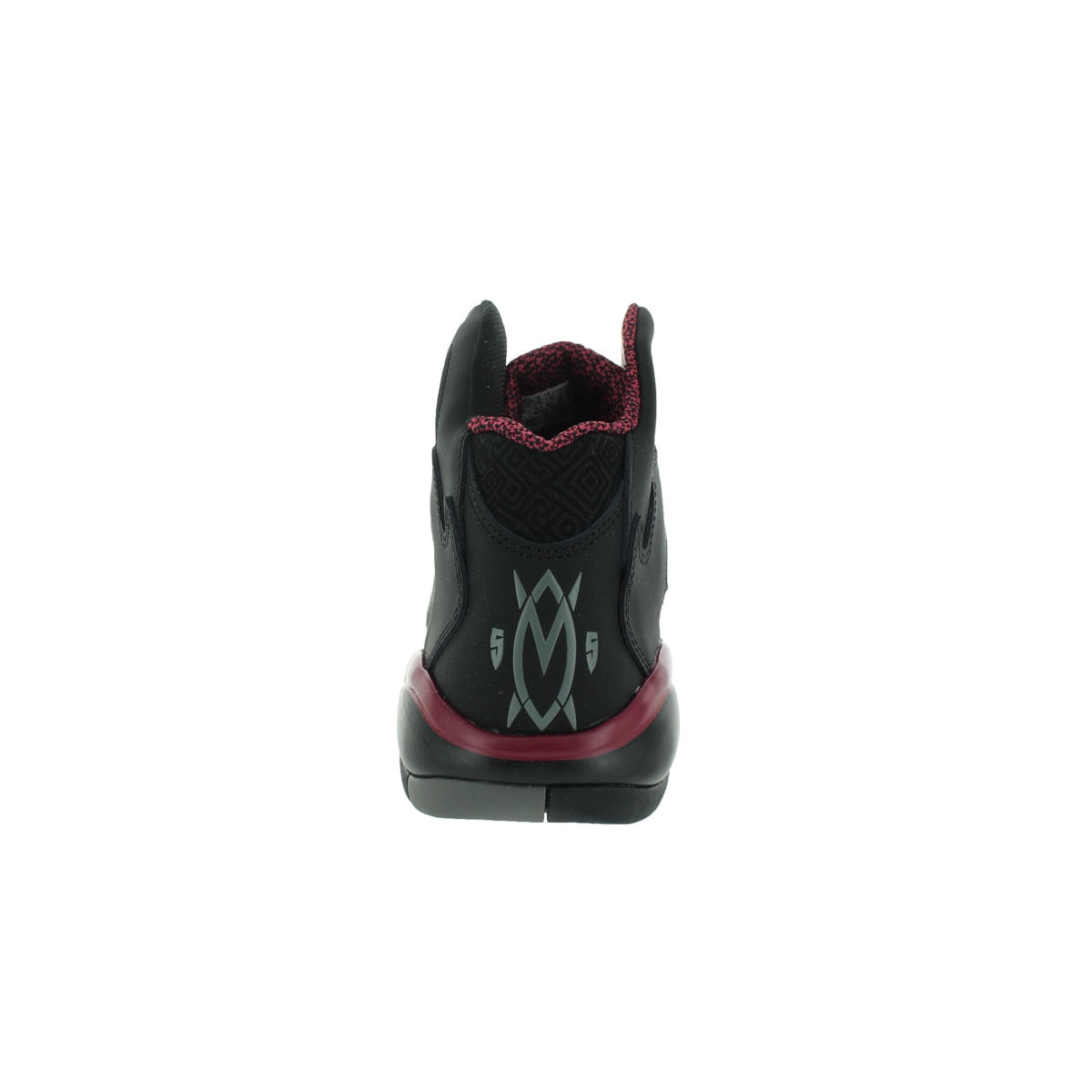 Shop Adidas Men s Mutombo 2 Originals Black Black Burgundy Basketball Shoe  - Free Shipping Today - Overstock.com - 12346814 475faa539