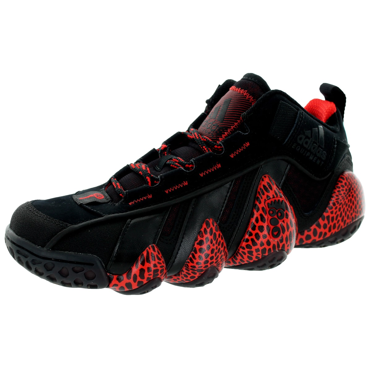 7968e877f36f Shop Adidas Men s Eqt Key Trainer Black Black Poppy Training Shoe - Free  Shipping Today - Overstock - 12346838