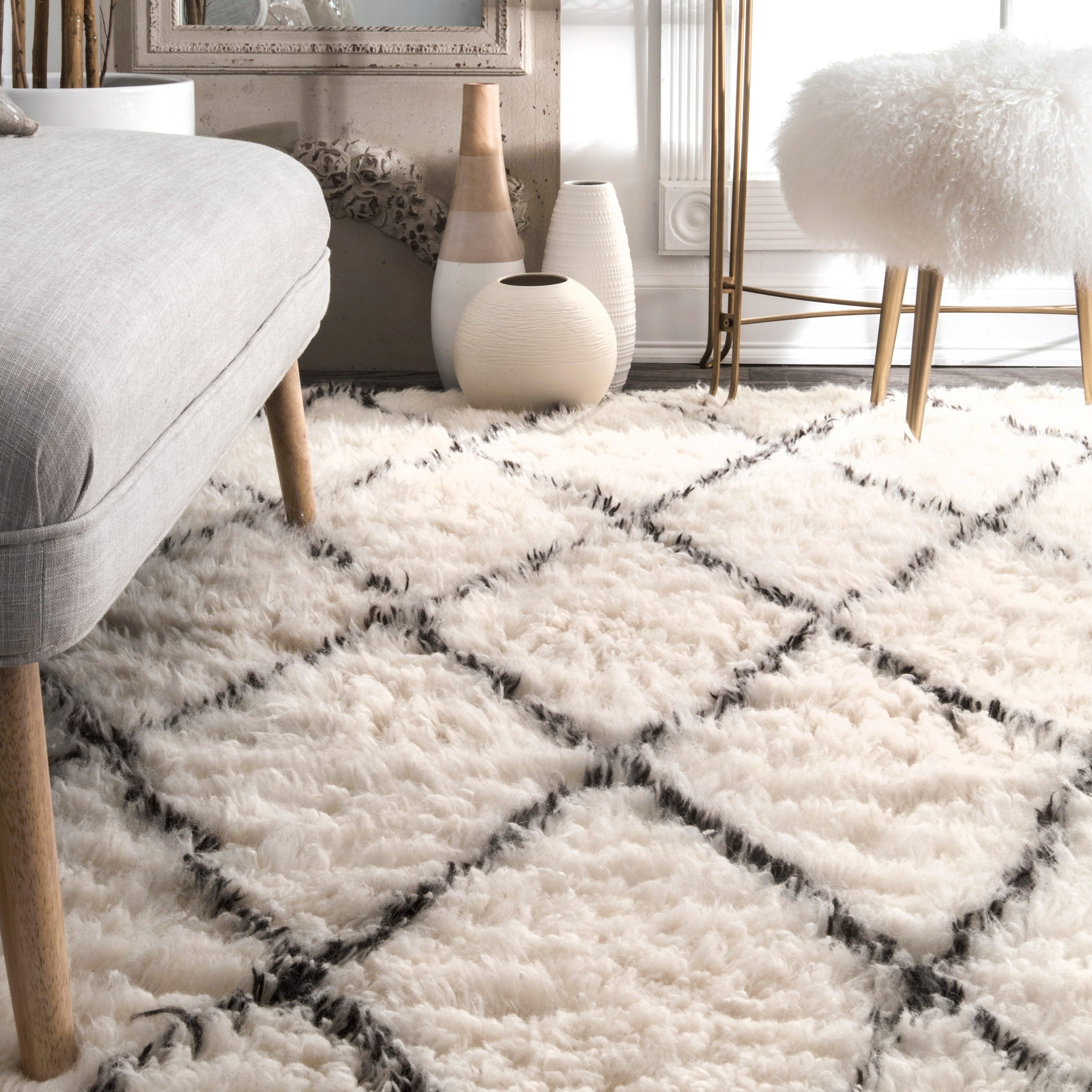 zealand nuloom rug walmart com braided cable new x ip handmade white wool