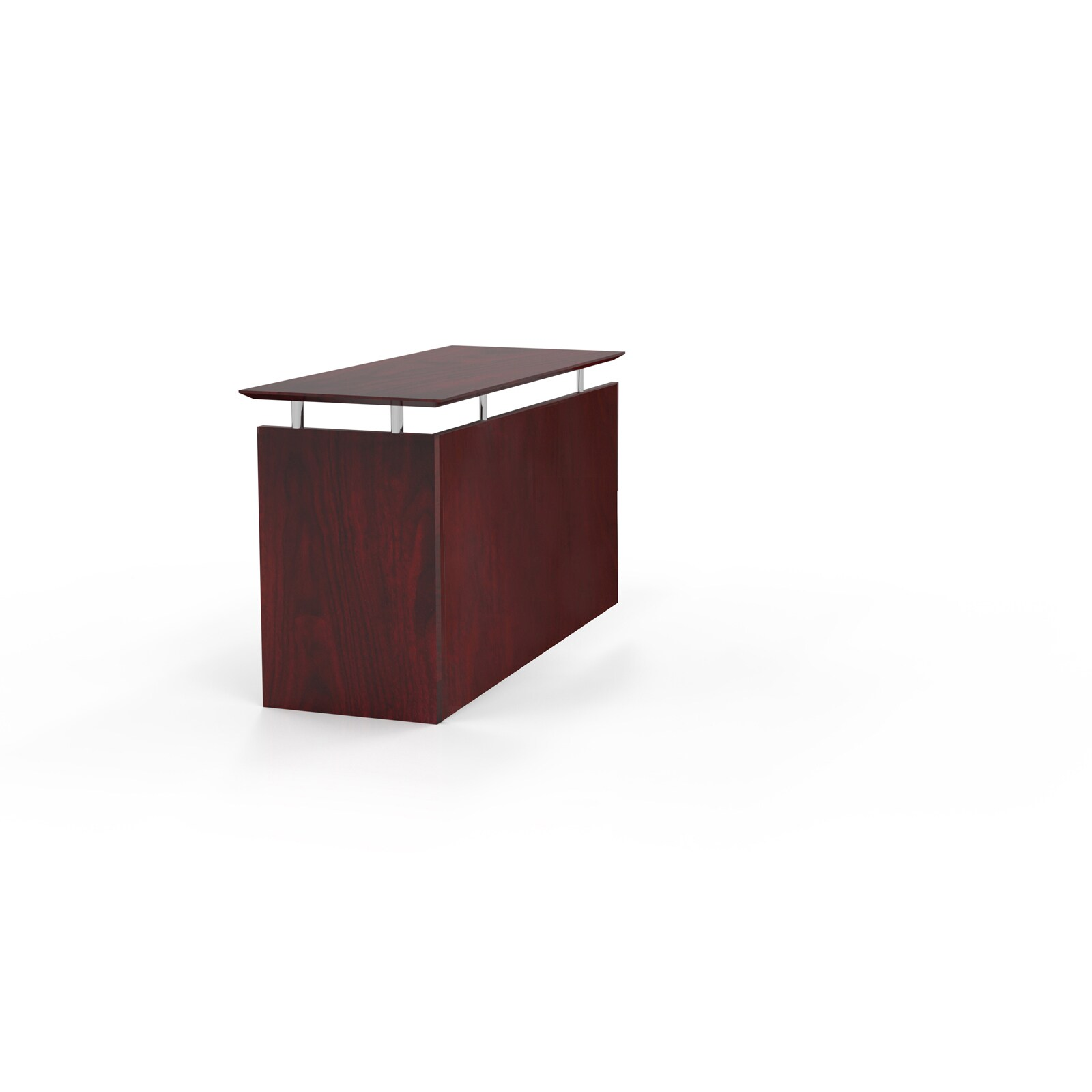 Mayline Medina Series 48 5 Inch Non Handed Return Reception Desk Free Shipping Today 12353196