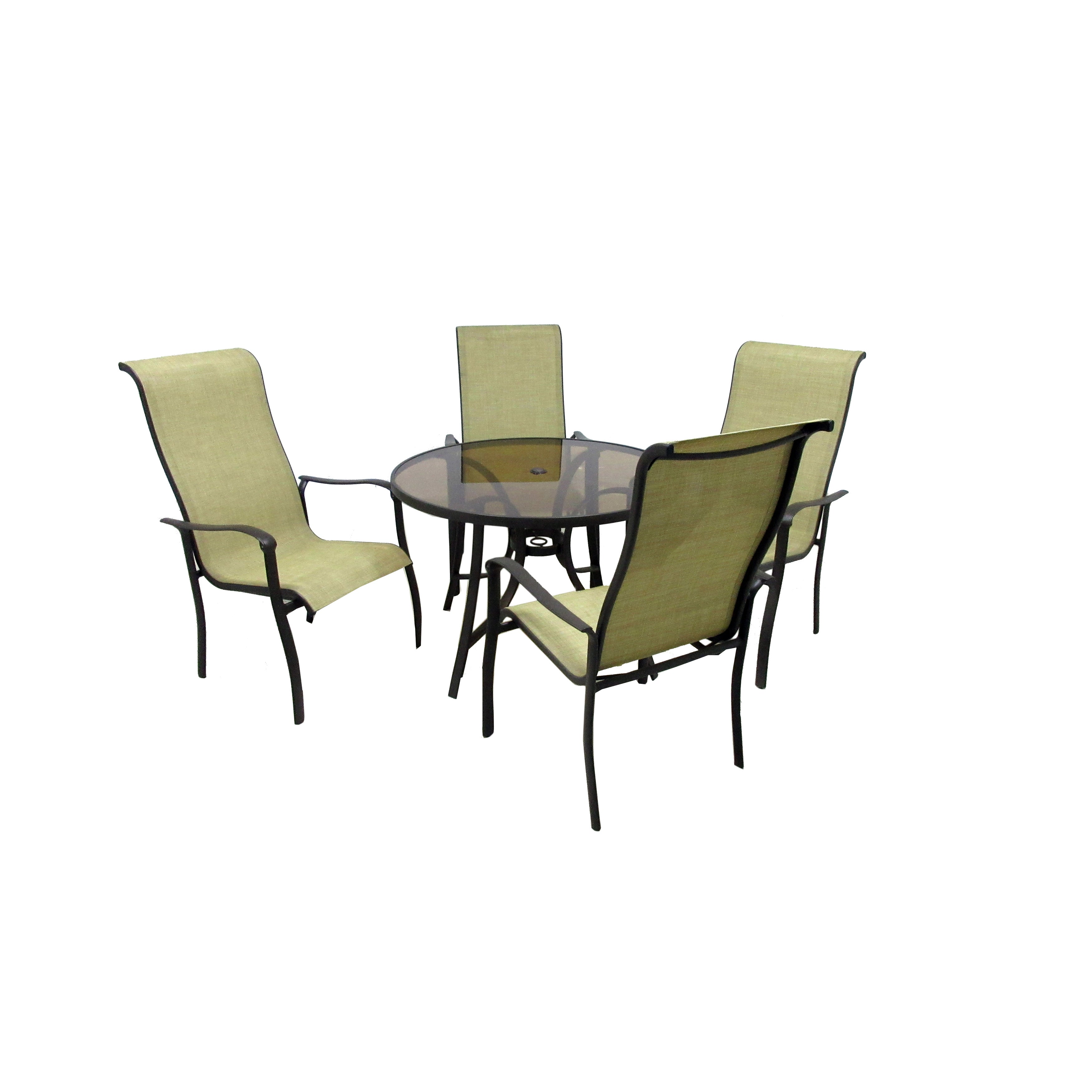Shop pacifica 5 piece outdoor dining collection free shipping today overstock 12355300