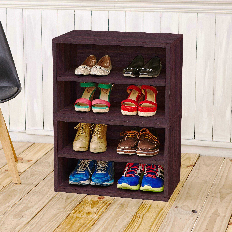 Shop Modular Storage System Shoe Rack Bookcase Shelving By Way