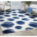 Nourison Twilight Ivory/Blue Area Rug (12' x 15')