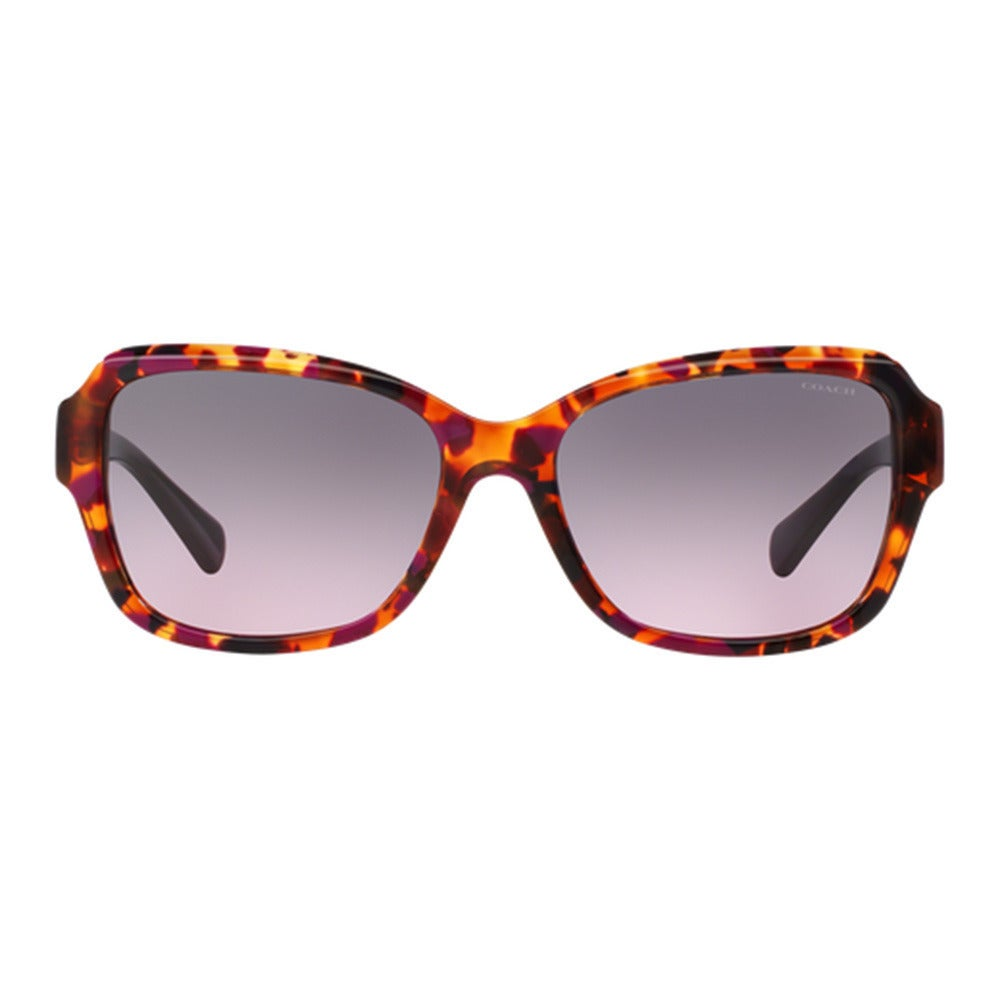 d3e41be72849 ... official store shop coach hc8160f 533990 purple confetti purple womens  plastic butterfly sunglasses free shipping today