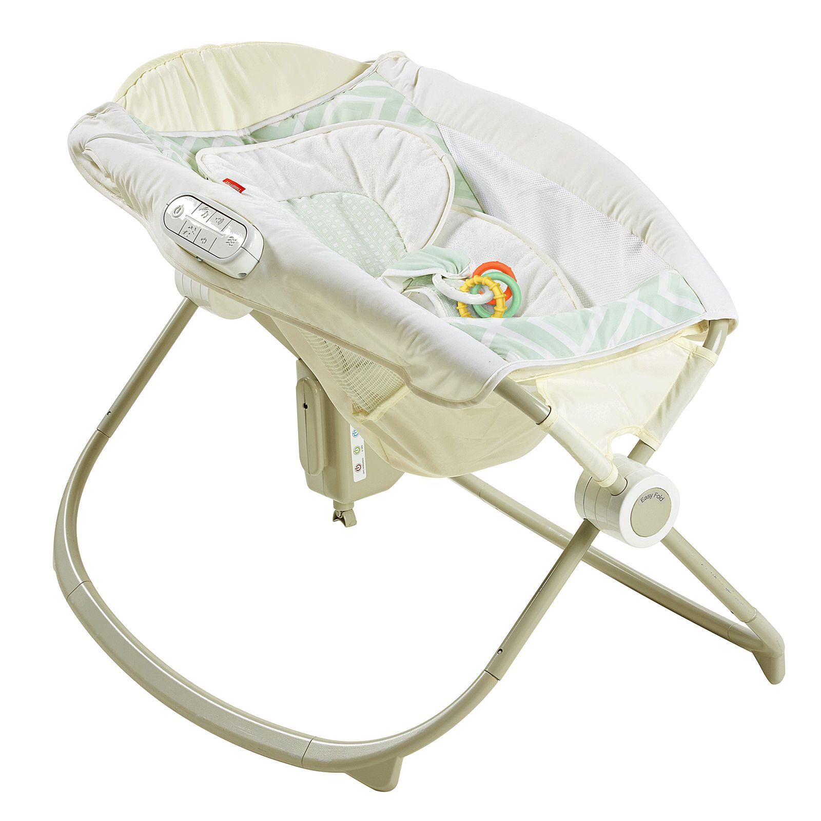 Shop Fisher Price Deluxe Newborn Auto Rock N Play Sleeper With Infant Learning Toaster Smart Connect Free Shipping Today 12360561