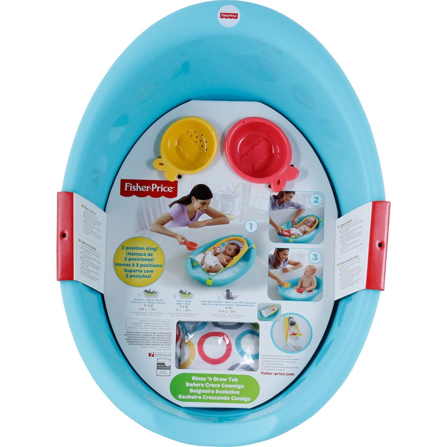 Shop Fisher-Price Rinse \'n Grow Tub - Free Shipping On Orders Over ...