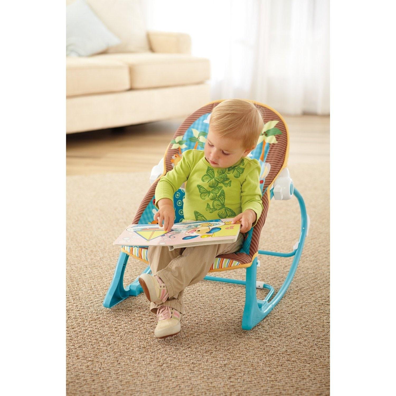 Fisher Price Jungle Fun Infant to Toddler Rocker Free Shipping