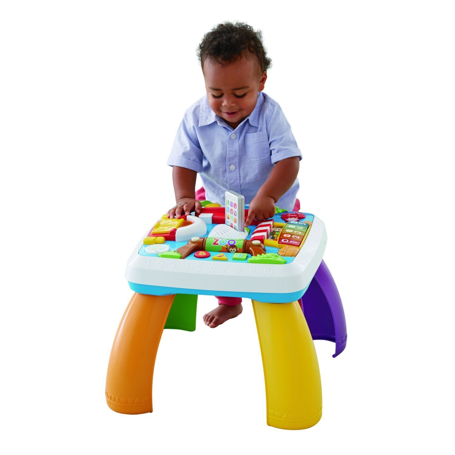 Fisher Price Laugh And Learn Around The Town Learning Table