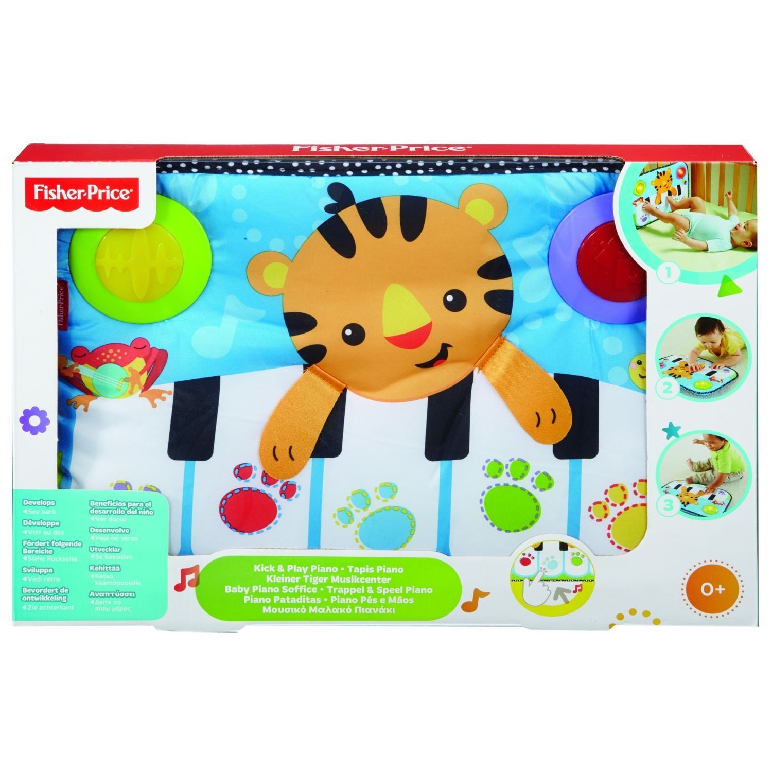 Shop Fisher Price Kick And Play Piano Free Shipping On Orders Over