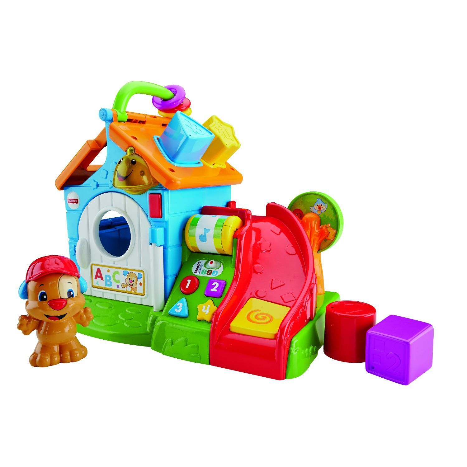 Shop Fisher Price Laugh And Learn Smart Stages Activity Playhouse Phone Free Shipping Today 12360627