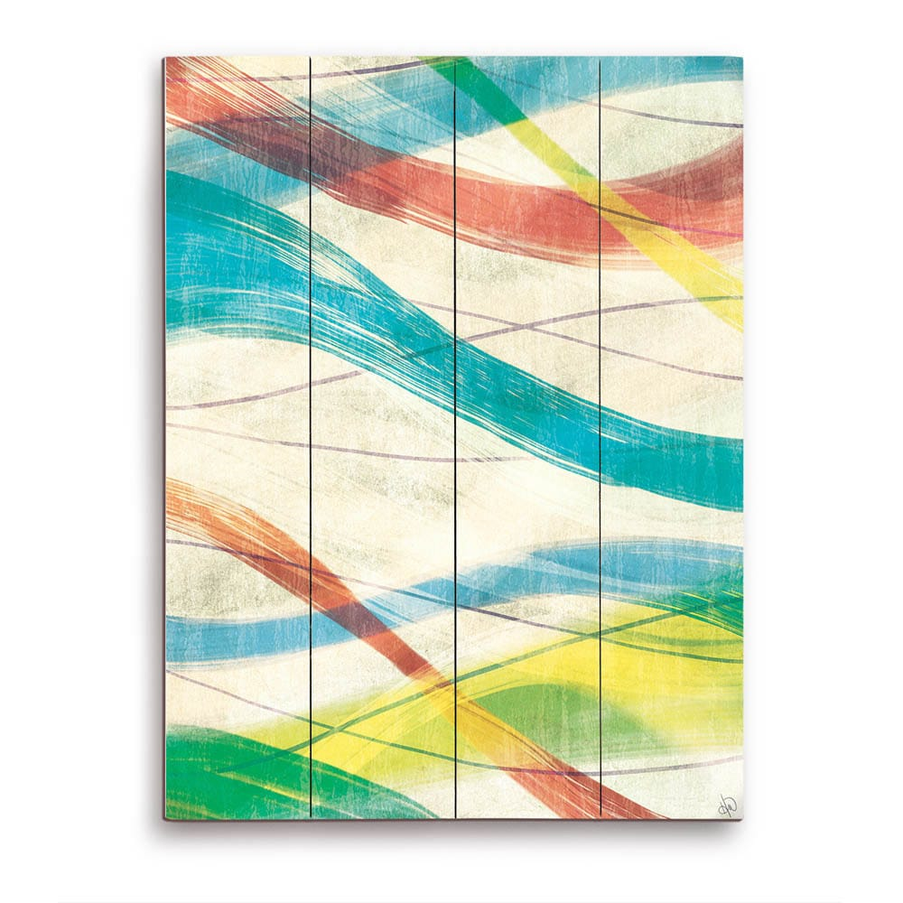 Shop strands of paint wooden wall art on sale free shipping today overstock com 12361408