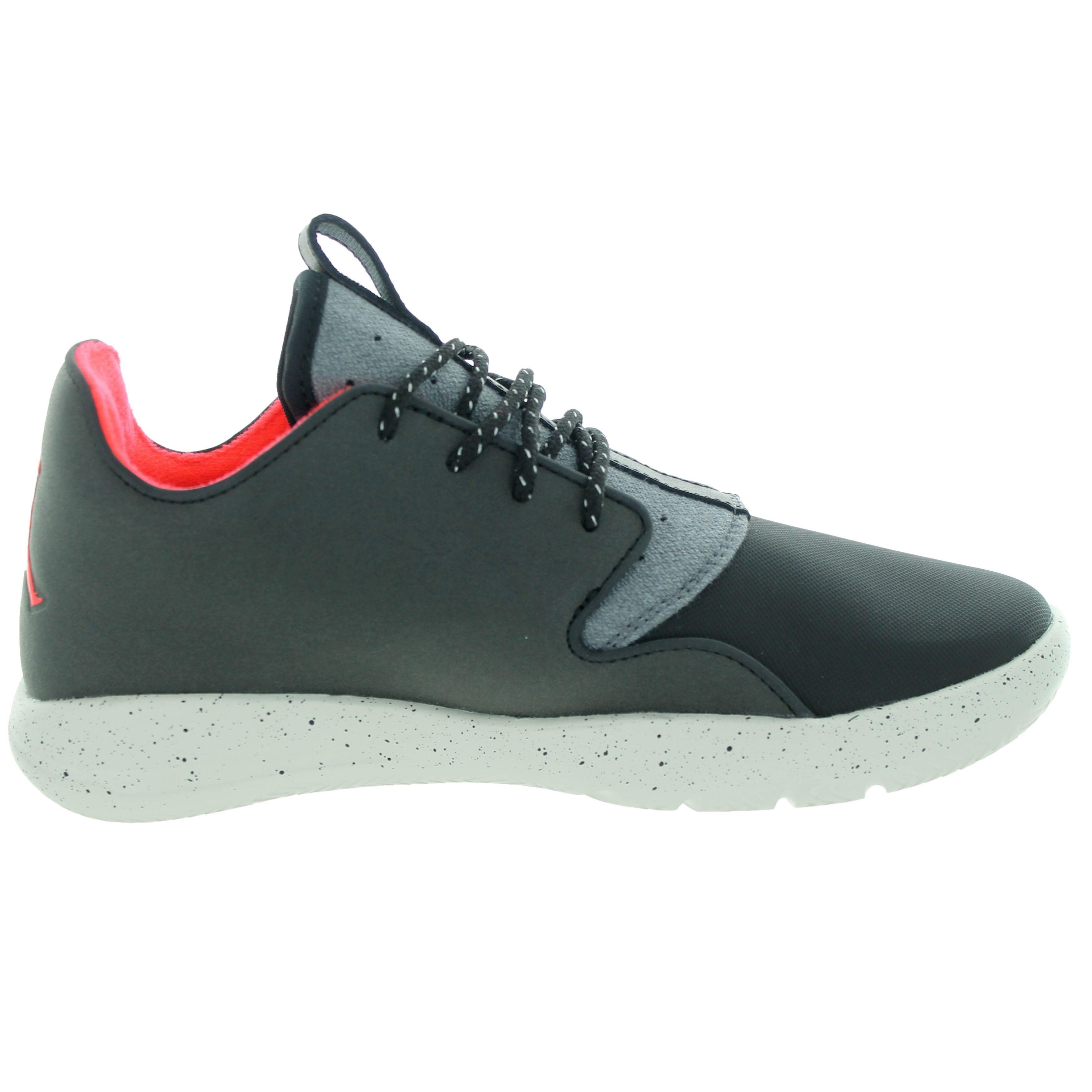 37ad22a794d1 Shop Nike Jordan Kids  Jordan Eclipse Holiday Black Black Dark Grey  Basketball Shoes - Free Shipping Today - Overstock - 12362244