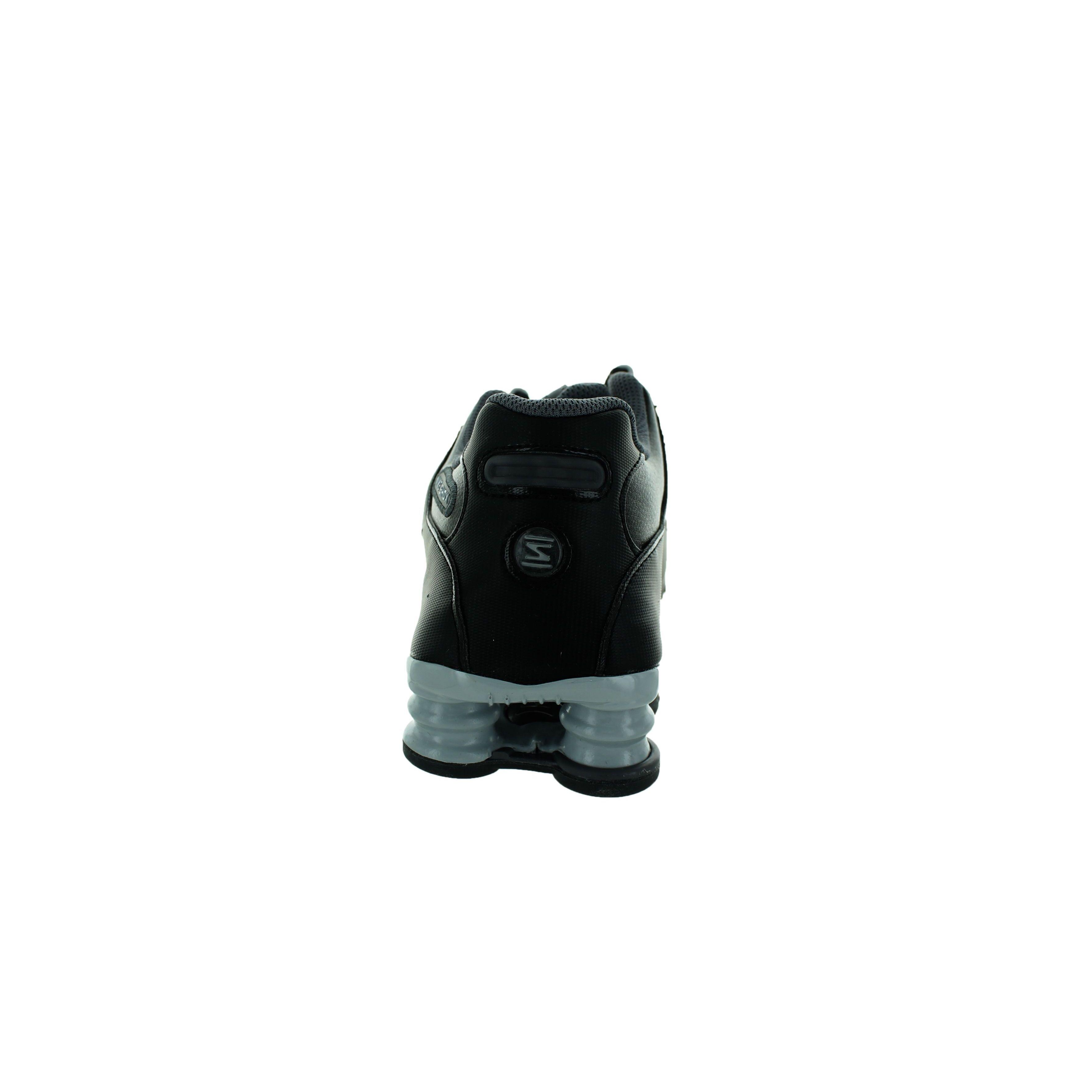 Shop Nike Women s Shox NZ EU Black Leather Running Shoes - Free Shipping  Today - Overstock - 12362319 00e0b4441