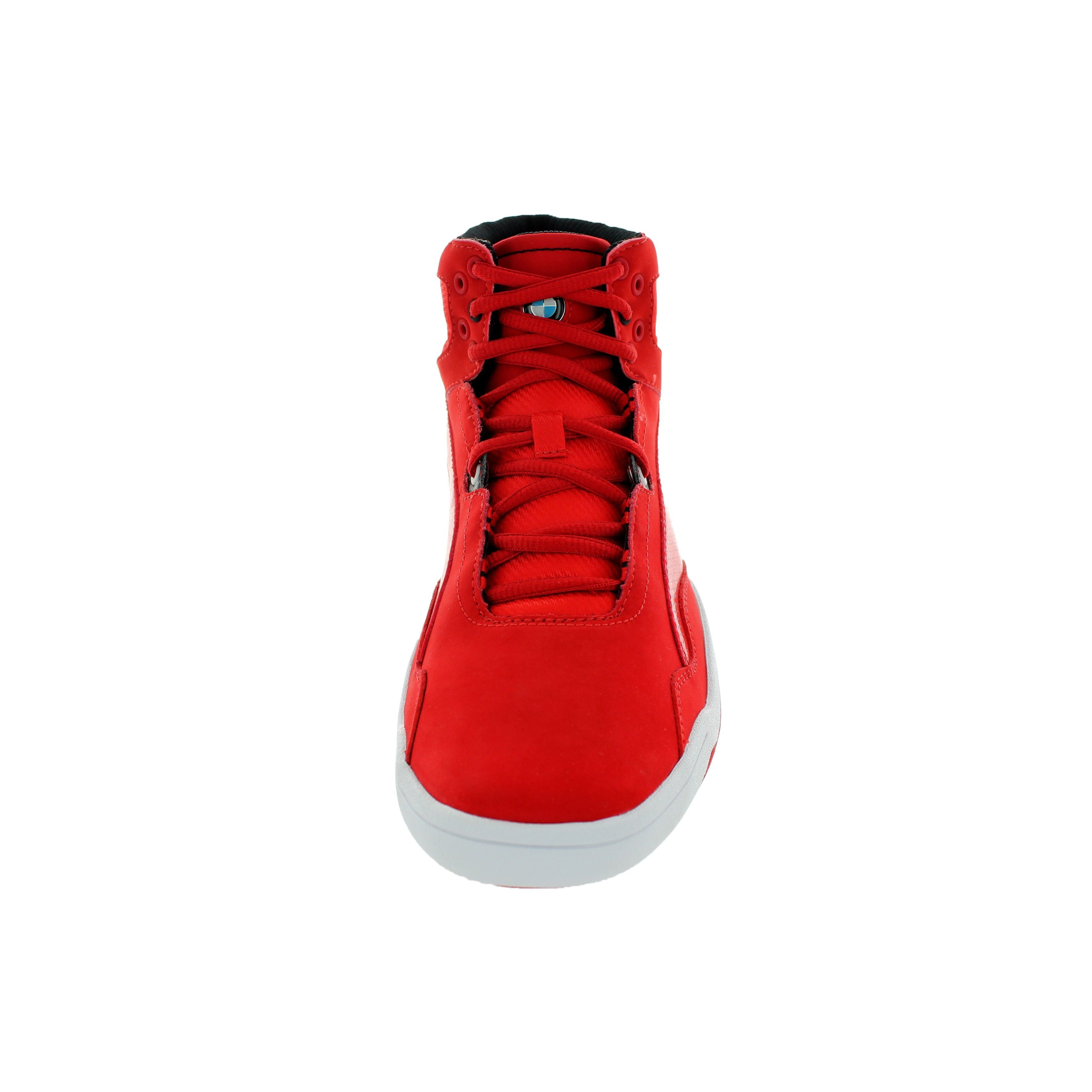 2da2001800b Shop Puma Men s Preciso Mid BMW High-risk Red Casual Shoes - Free Shipping  Today - Overstock - 12362403