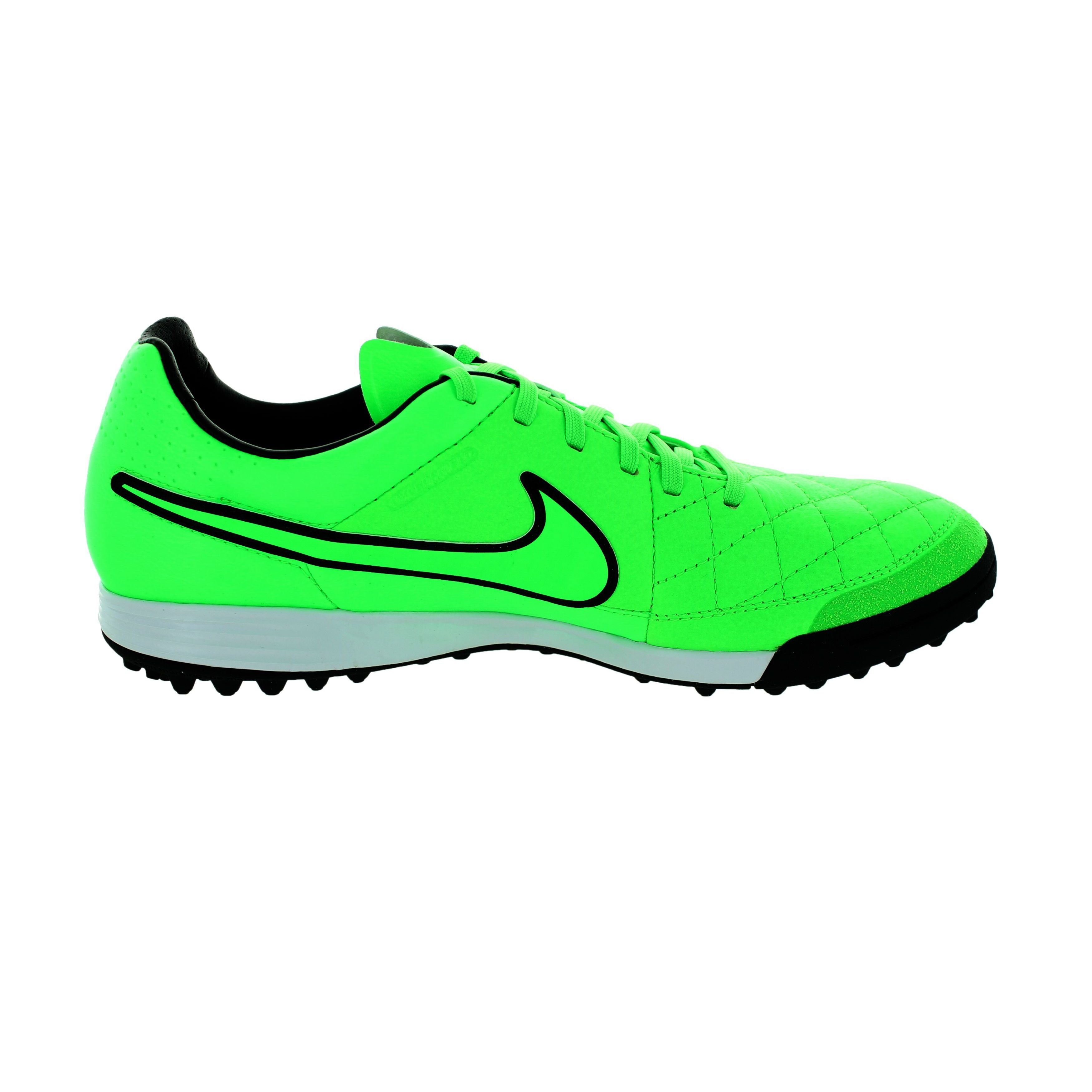 5a9ee40fd Shop Nike Men s Tiempo Legacy TF Green Strike Black Turf Soccer Shoes -  Free Shipping Today - Overstock - 12362415