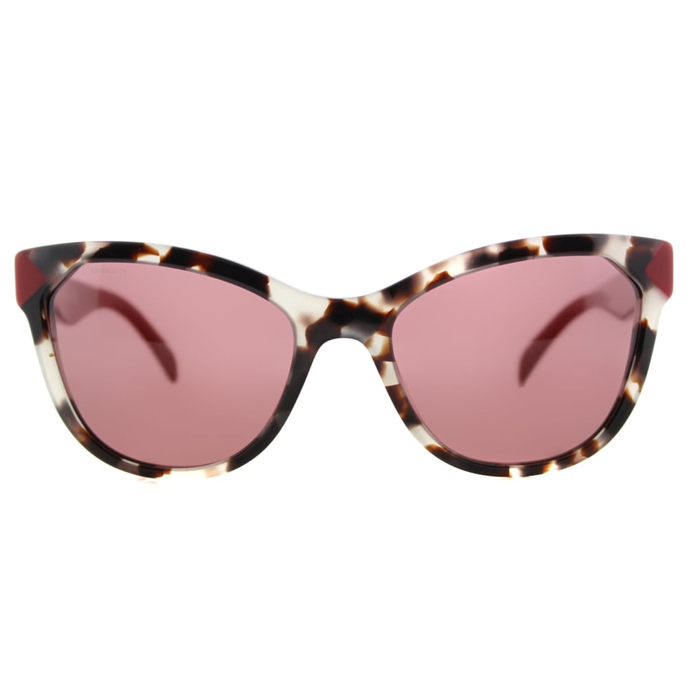 809a44d3b9db8 ... order shop prada pr 21ss uao0a0 spotted opal brown plastic cat eye dark  violet lens sunglasses