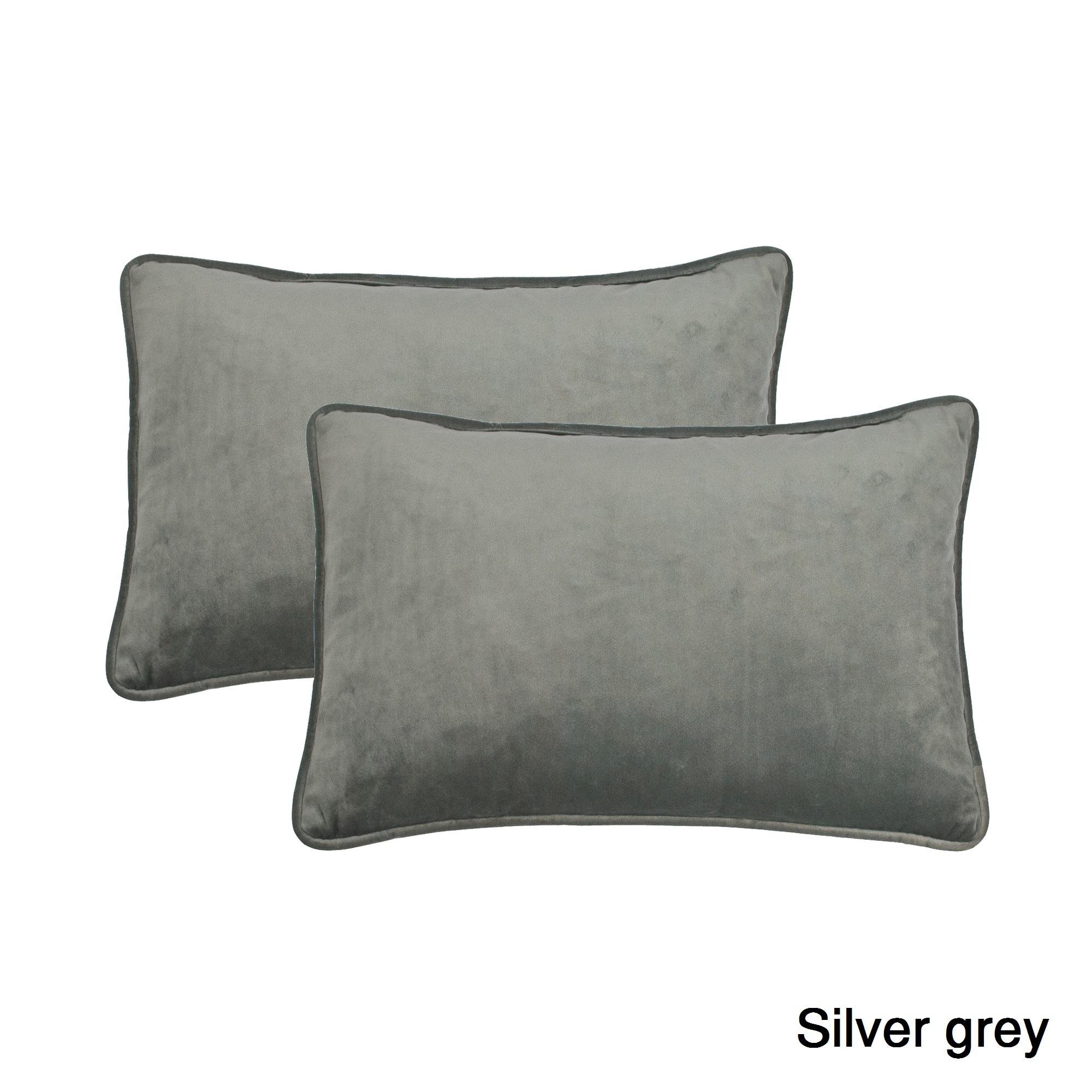 Sherry Kline Richmond Velvet Boudoir Throw Pillow Set Of 2 Free Shipping Today 12363089