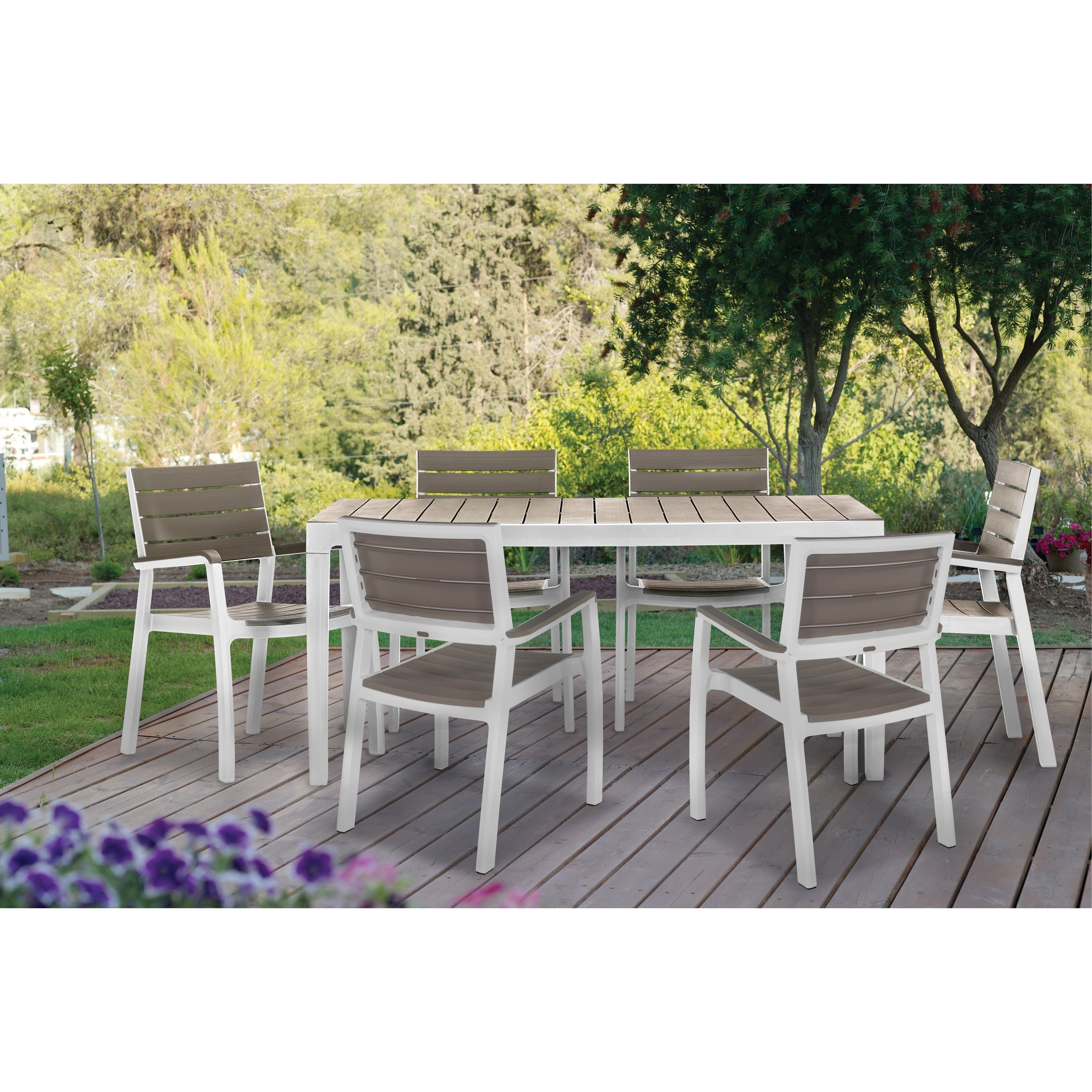 Keter Harmony Outdoor Dining Table