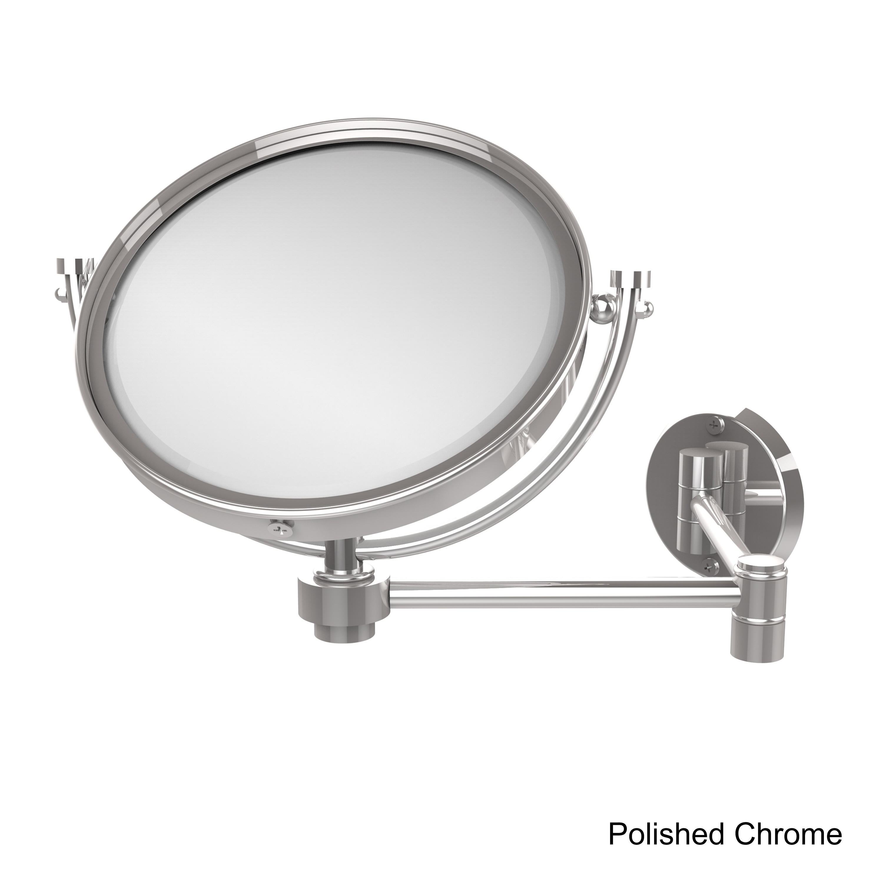 Allied Br 8 Inch Wall Mounted Extending Make Up Mirror With 5x Magnification Free Shipping Today 12363910
