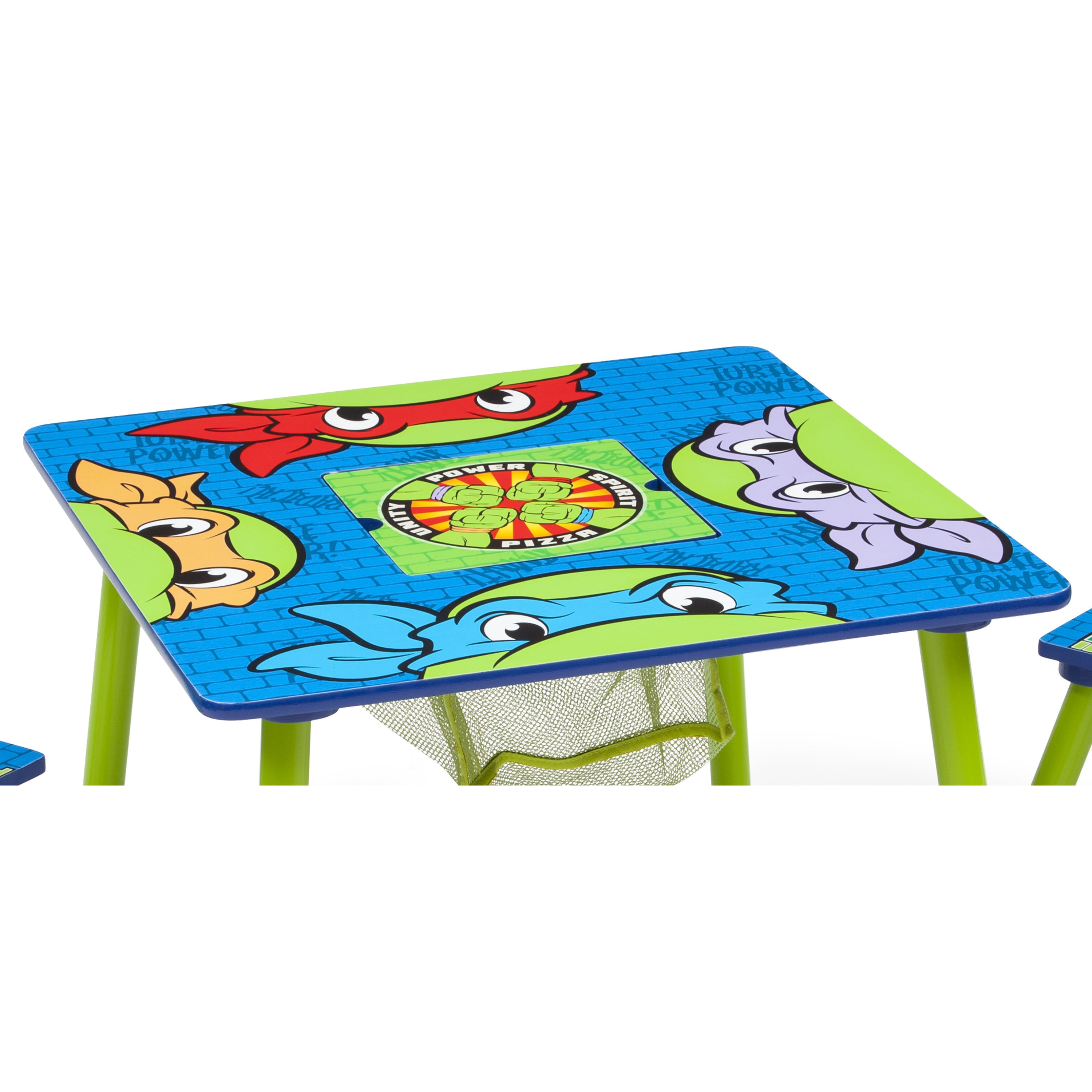 Nickelodeon Teenage Mutant Ninja Turtles Table u0026 Chair Set with Storage - Multi - Free Shipping Today - Overstock - 19194590  sc 1 st  Overstock.com & Nickelodeon Teenage Mutant Ninja Turtles Table u0026 Chair Set with ...