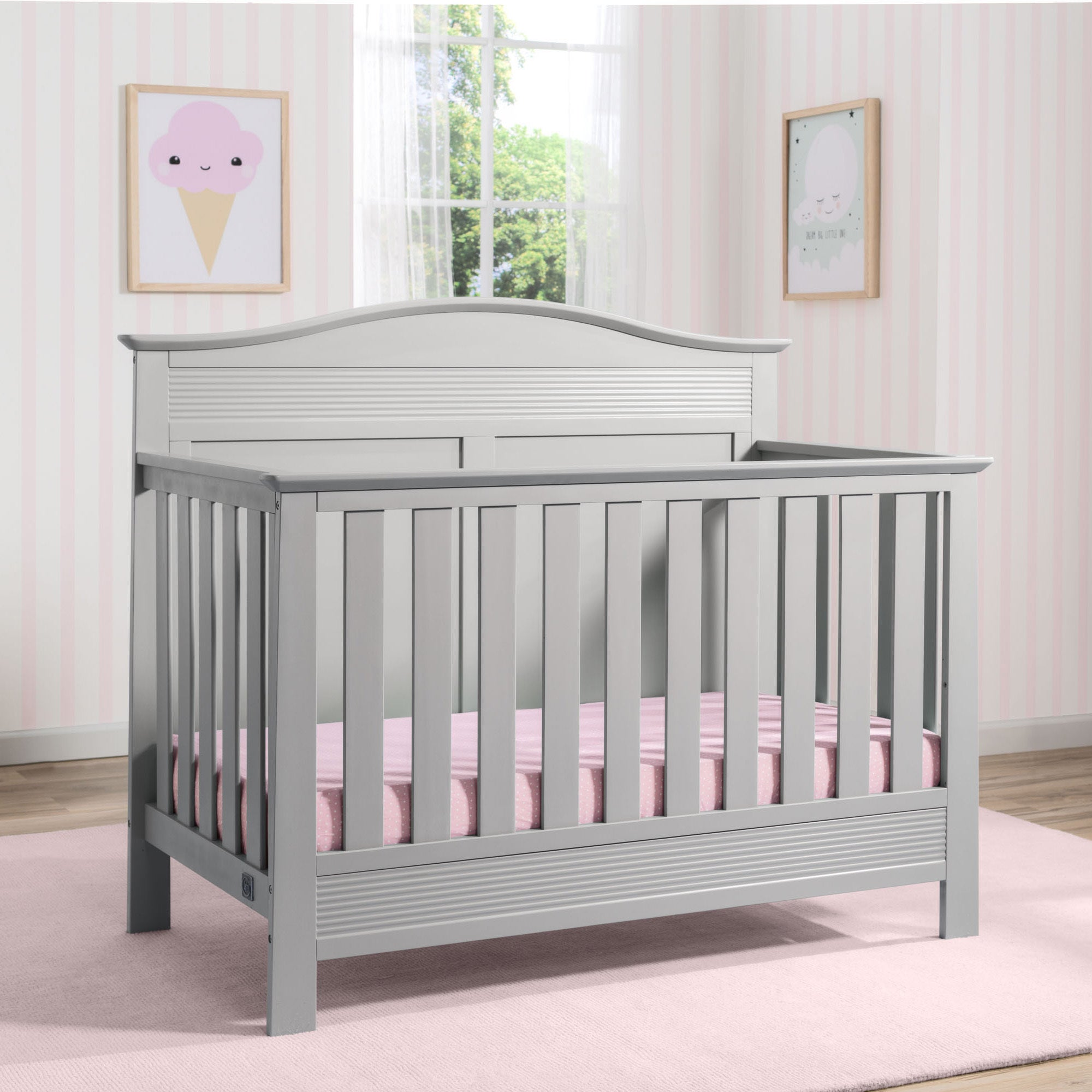 Serta Barrett 4 In 1 Convertible Crib