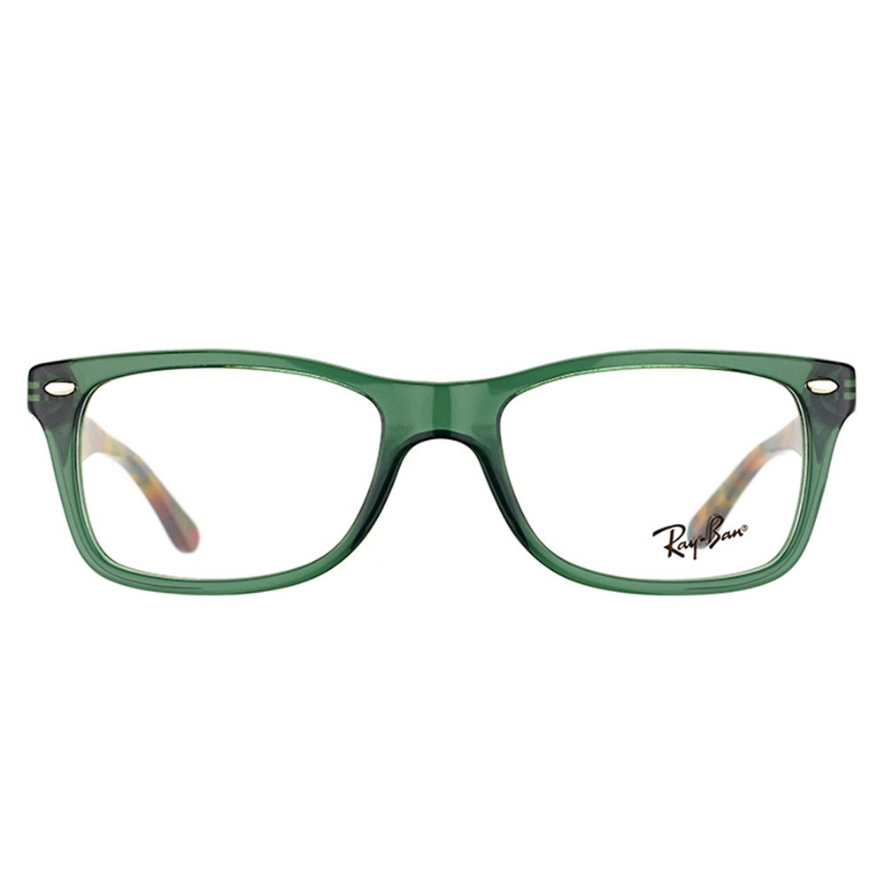 2506a8fe076 Shop Ray-Ban RX 5228 5630 Opal Green Plastic Rectangle Eyeglasses - Free  Shipping Today - Overstock - 12369944
