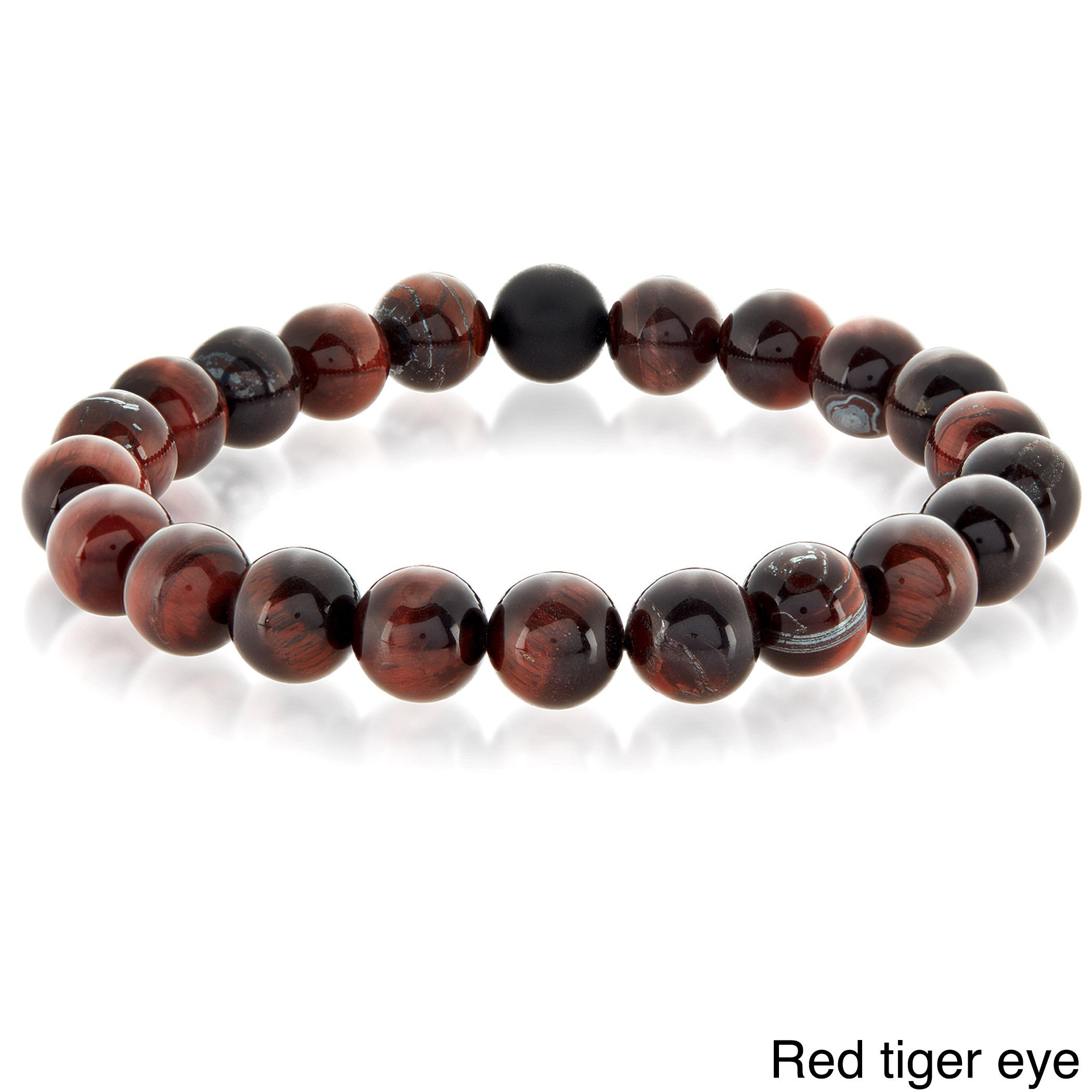 bracelet women prayer natural charm product agate gemstone stretch power men store semi precious handmade colorful beads reiki buddha stretchy yoga chakra for strand stone