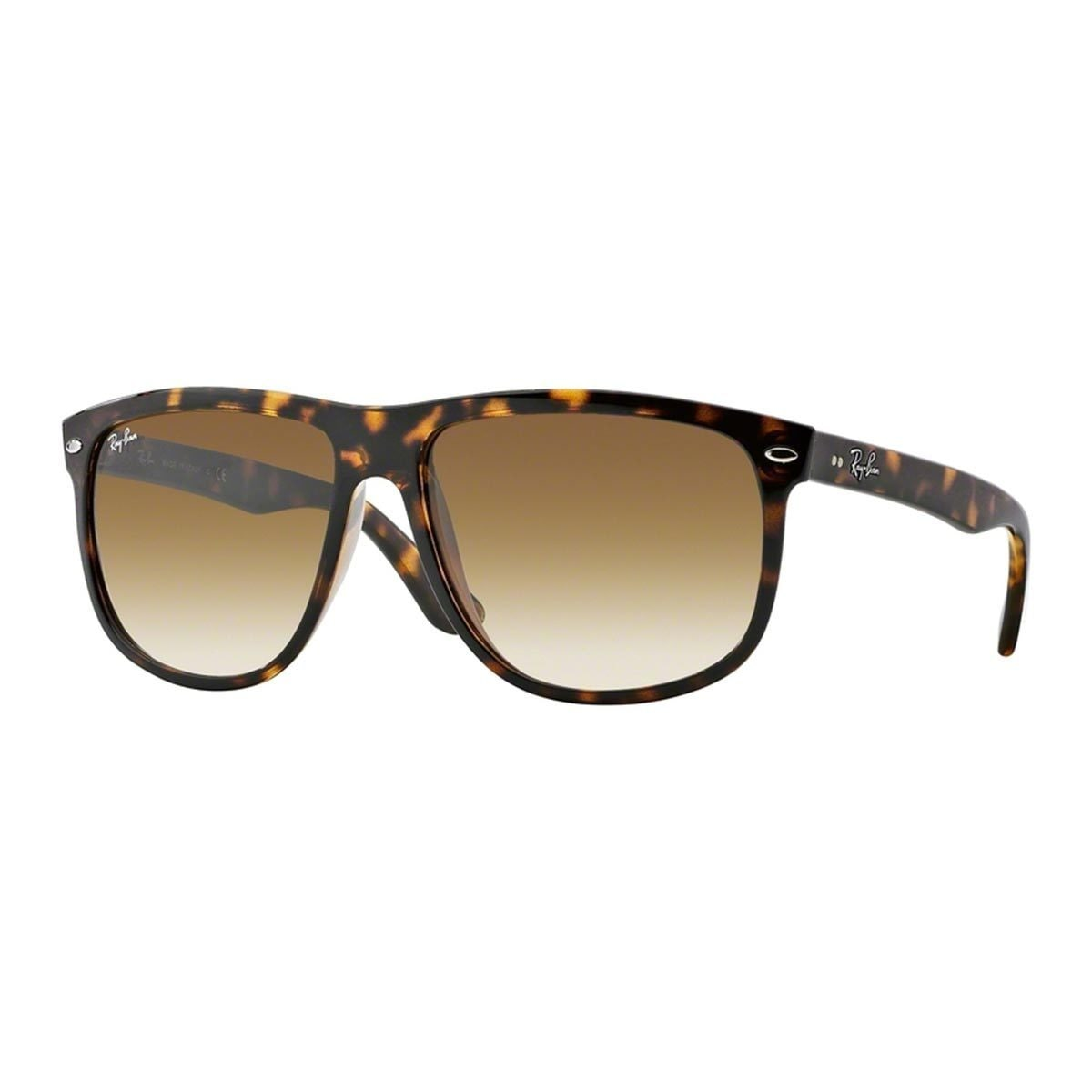 00e3f32a22 Shop Ray-Ban Men s RB4147 60 Tortoise Plastic Square Sunglasses ...
