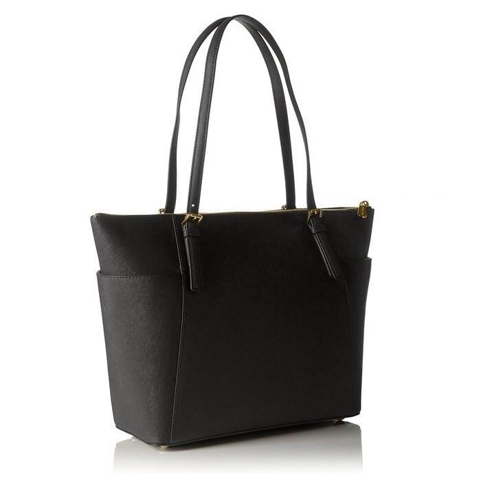 39afd617694c Shop Michael Kors Jet Set Large Top-Zip Saffiano Leather Tote Bag ...