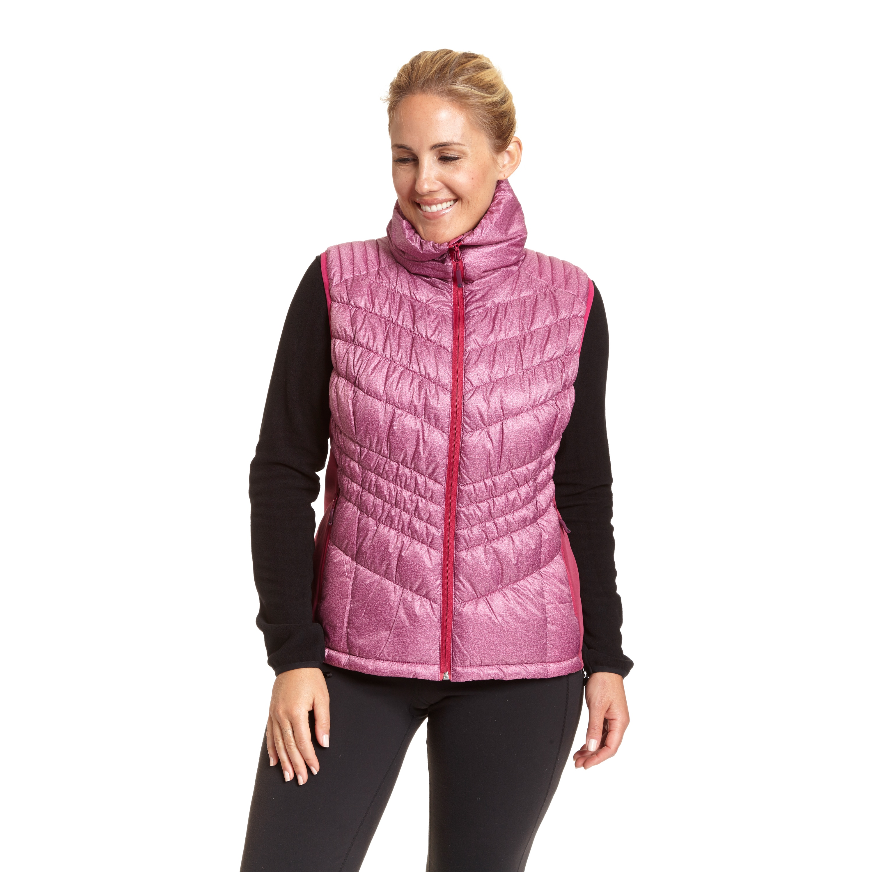 bbc7d4c1beb23 Shop Champion Women s Plus-size Insulated Puffer Vest - Free Shipping On  Orders Over  45 - Overstock - 12382177