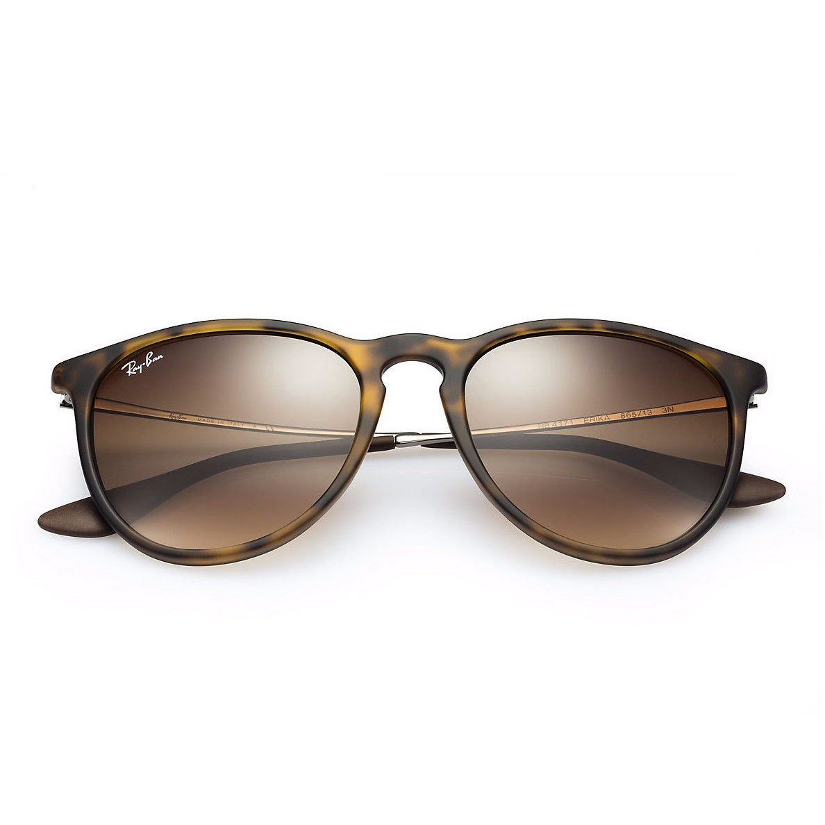 1127fc0e489 Shop Ray-Ban Erika RB4171 865 13 Tortoise Gunmetal Frame Brown Gradient  54mm Lens Sunglasses - Free Shipping Today - Overstock - 12382212