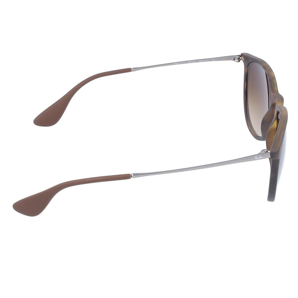 5dc069da728 Shop Ray-Ban Erika RB4171 865 13 Tortoise Gunmetal Frame Brown Gradient 54mm  Lens Sunglasses - Free Shipping Today - Overstock - 12382212