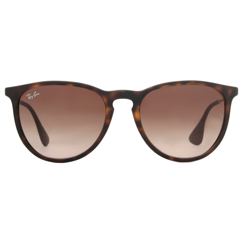 ae29c8ce32 Shop Ray-Ban Erika RB4171 865/13 Tortoise/Gunmetal Frame Brown Gradient  54mm Lens Sunglasses - Free Shipping Today - Overstock - 12382212