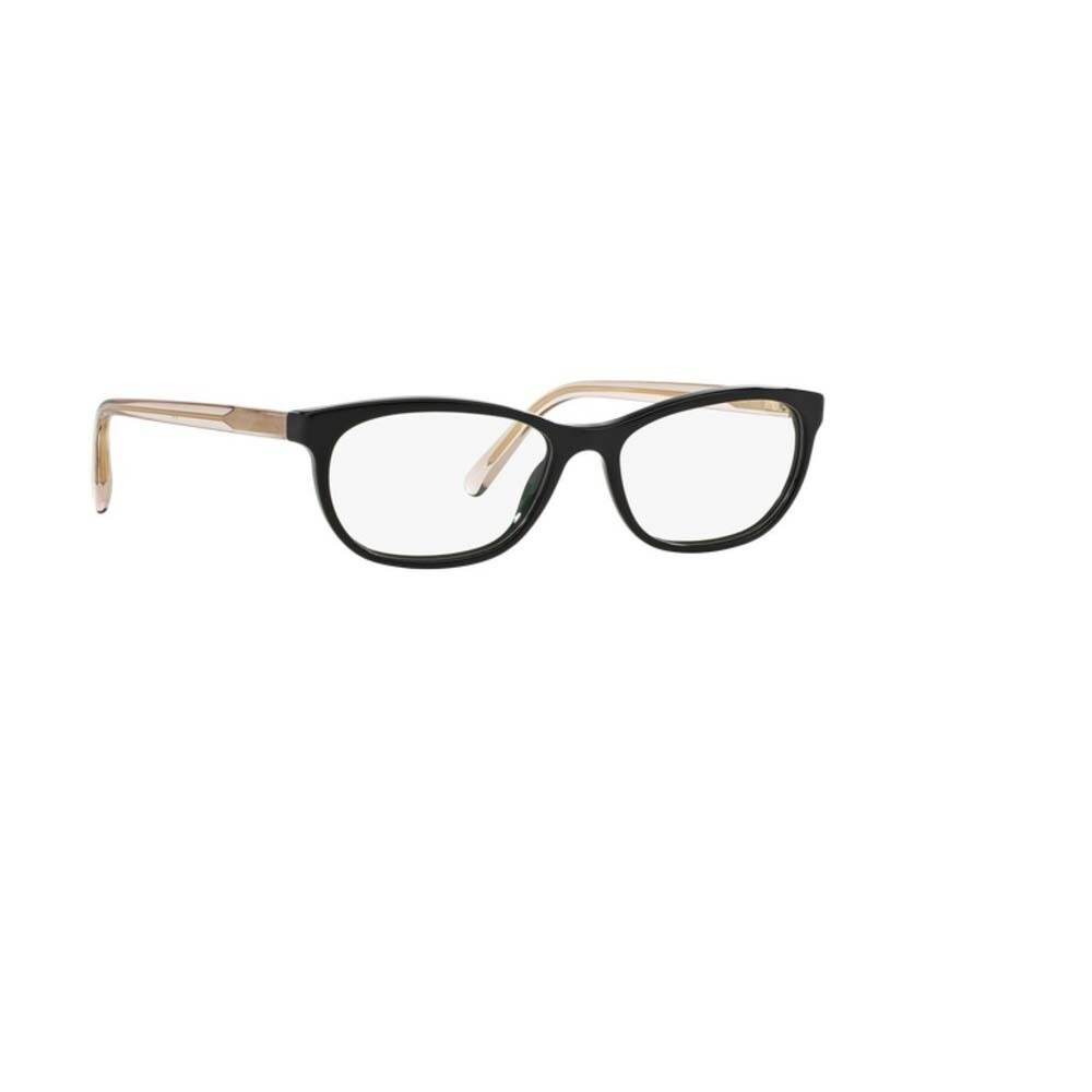ade56e8f22 Shop Burberry BE2180 3507 Black Plastic Cat Eye Eyeglasses with 52mm Lens -  Free Shipping Today - Overstock - 12383039