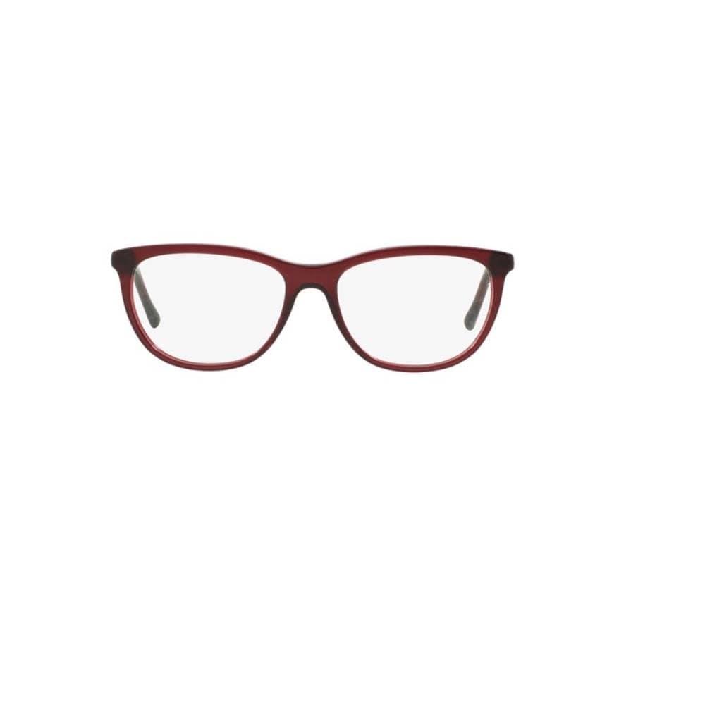 2e8baa6f2c Shop Burberry BE2189 3014 Bordeaux Plastic Cat Eye Eyeglasses w  52mm Lens  - Free Shipping Today - Overstock.com - 12383059