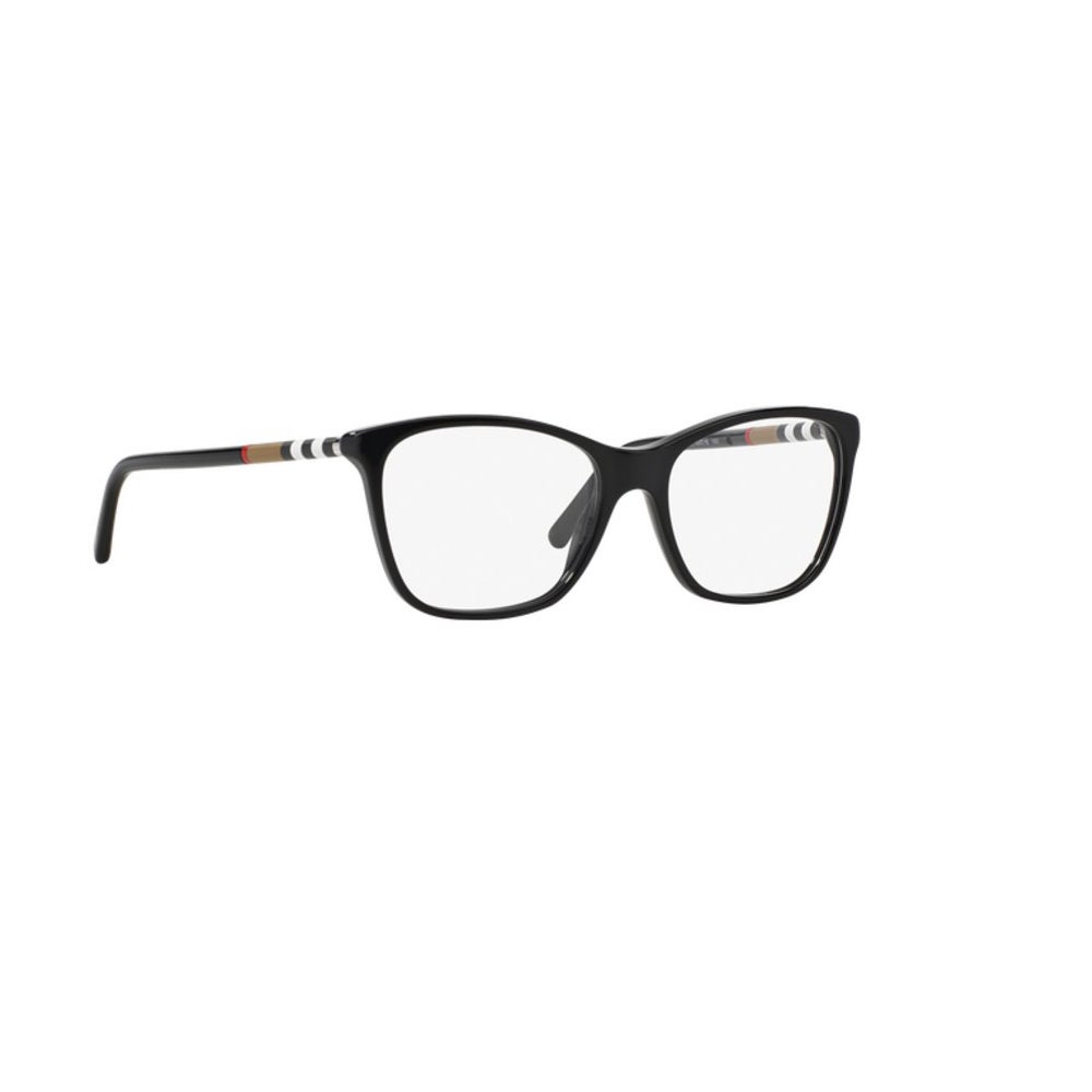 34bd7a1ea9b2 Shop Burberry Womens BE2141 3001 Black Plastic Square Eyeglasses with 53mm  Lens - Free Shipping Today - Overstock - 12383492