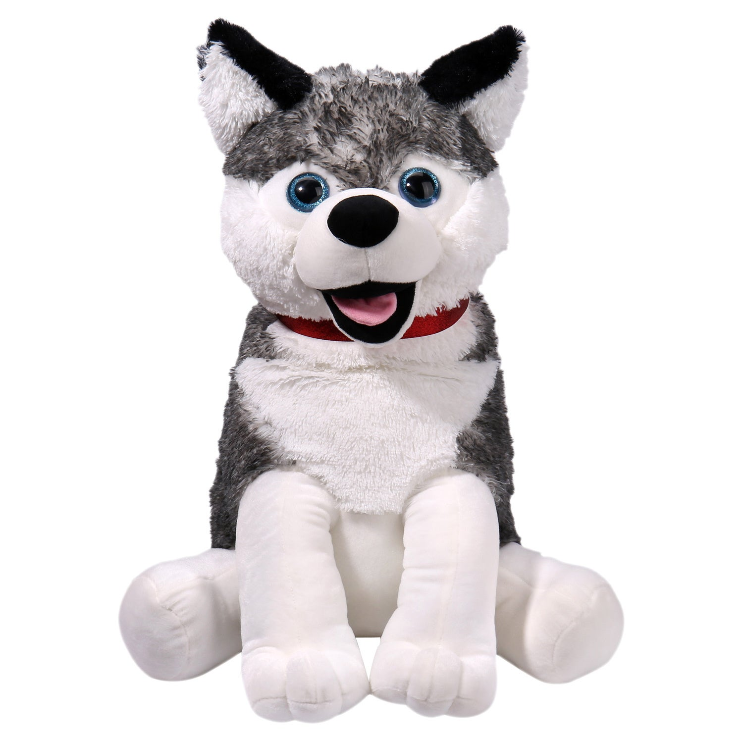 Shop iPlush Harry the Husky Toy - White - Free Shipping On Orders ...
