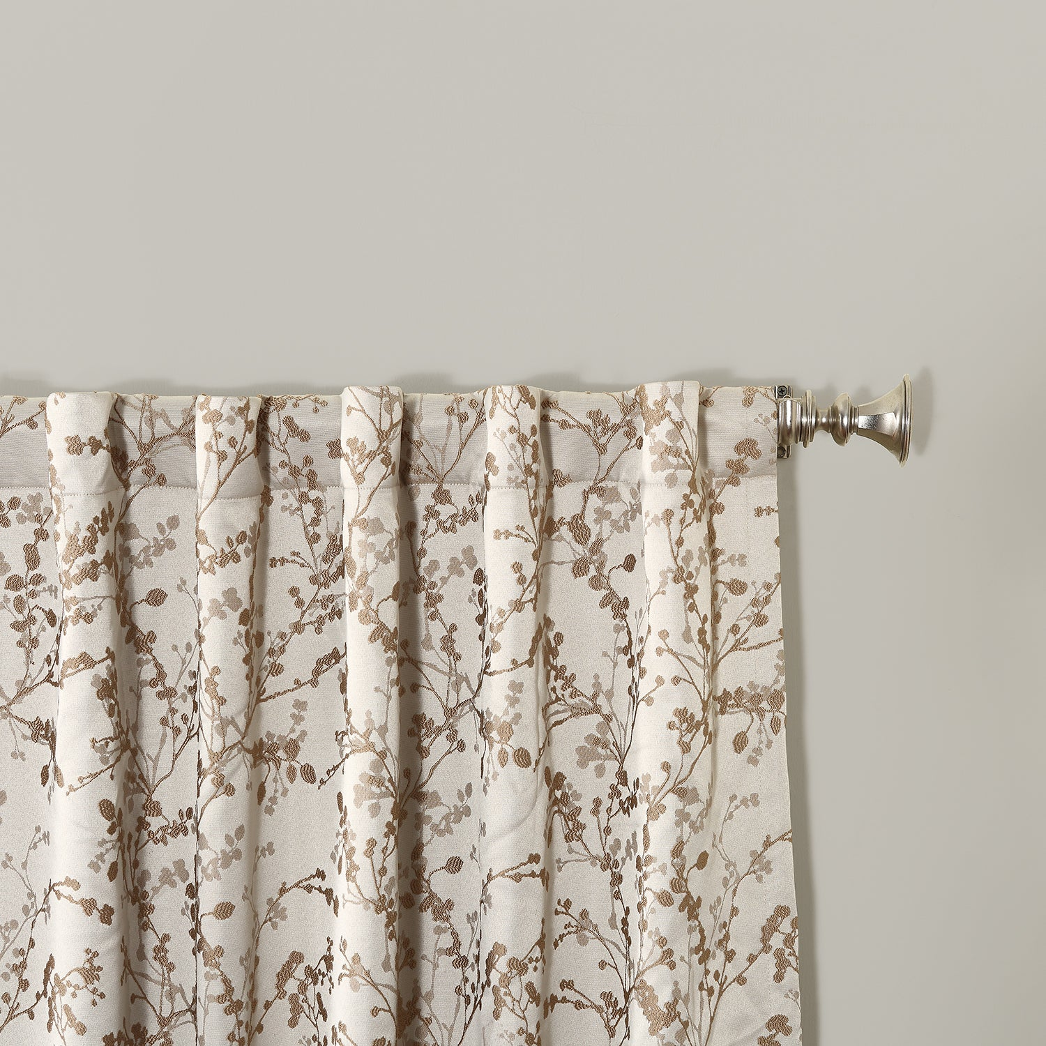 Shop Sun Zero Kavala Blackout Lined Back Tab Single Curtain Panel On Sale Free Shipping On Orders Over
