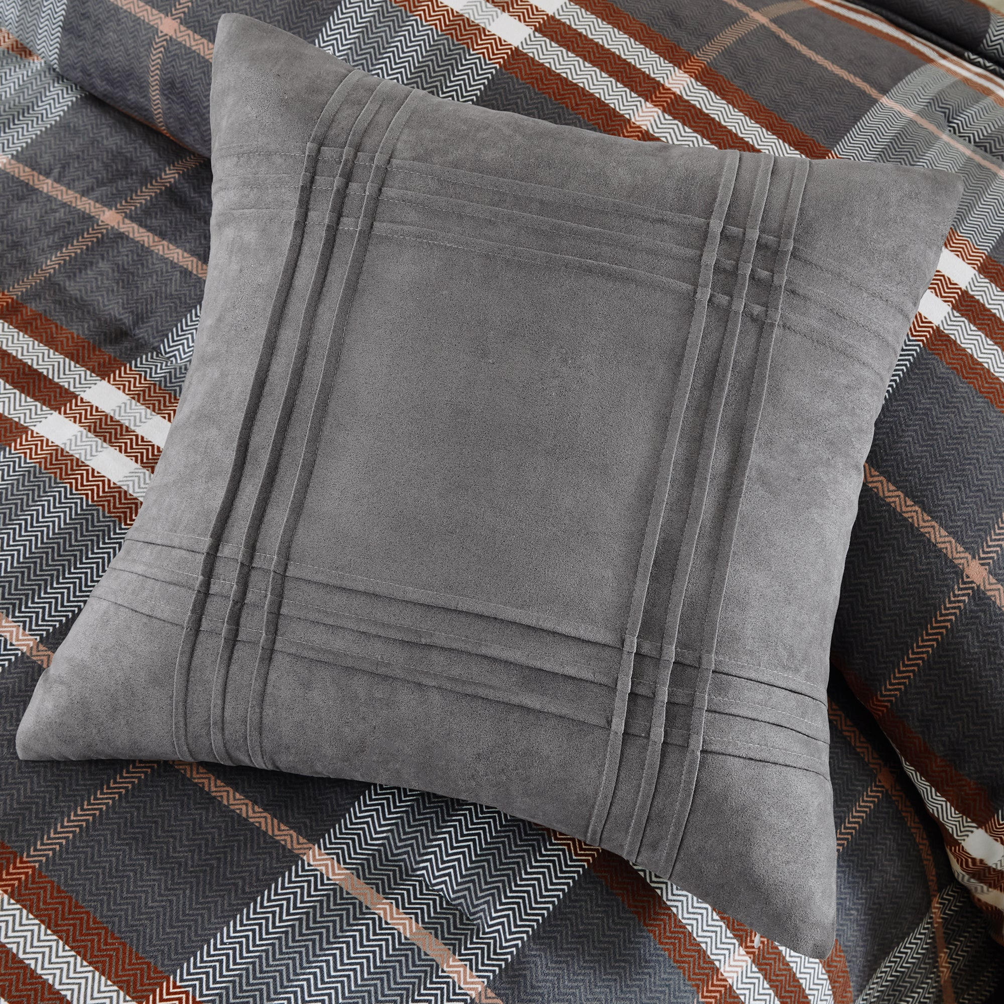 red piece set covington and comforter gray in sheets bed pin pinterest grey