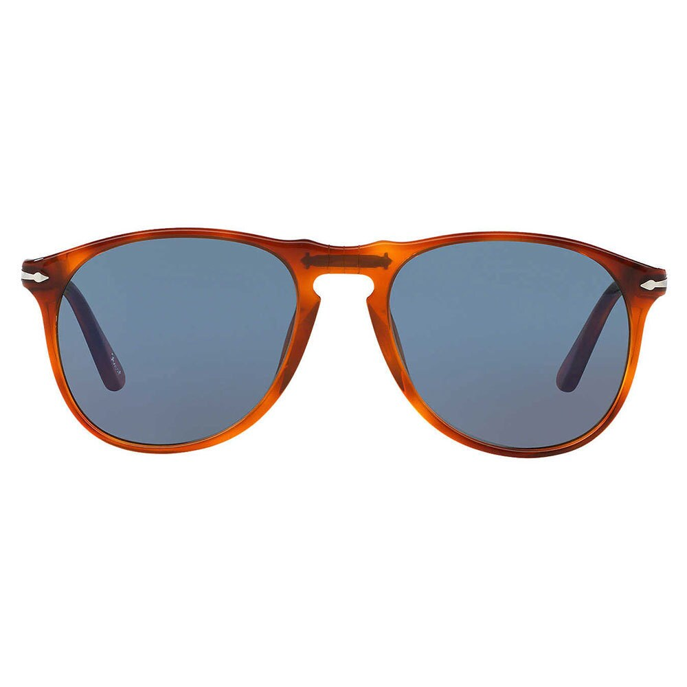 96cbee576c Shop Persol Men s PO9649S 96 58 Plastic Pilot Sunglasses - Tortoise - Large  - Free Shipping Today - Overstock.com - 12395138