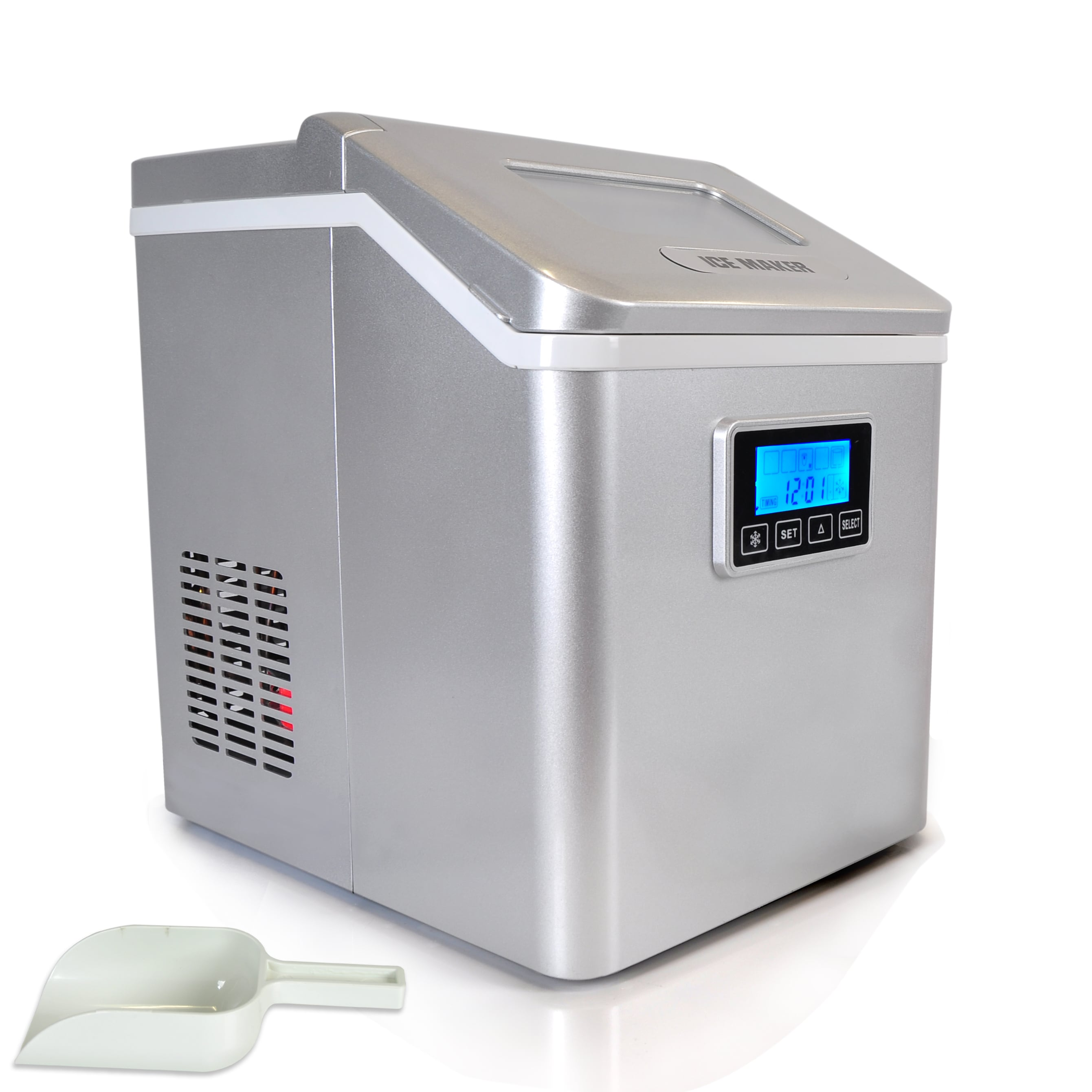 ice maker icemaker whynter and direct dispenser idc product silver connection countertops water countertop