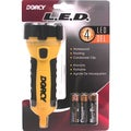 Dorcy 41-2510 4 LED 3 AA Battery Flashlight