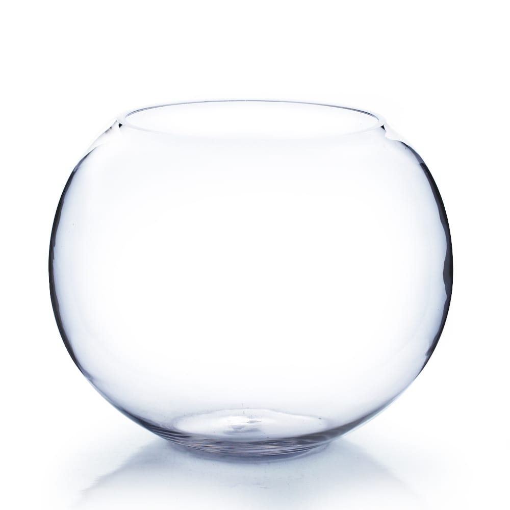 12 inch clear round bubble bowl vase free shipping today 12 inch clear round bubble bowl vase free shipping today overstock 19221200 reviewsmspy