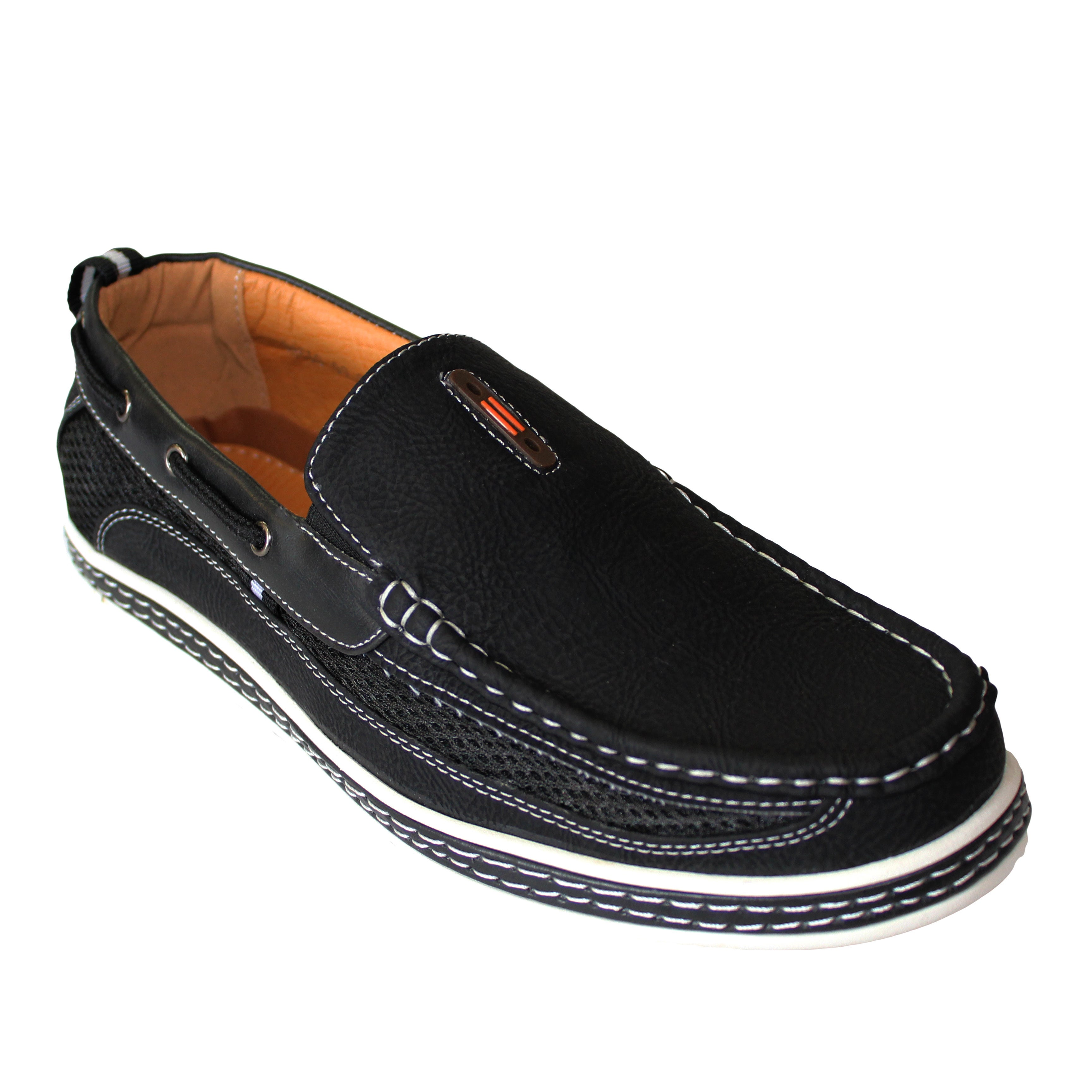 Shop Frenchic Collections Mens Slip On Loafers Free Shipping D Island Shoes Casual Comfort Suede Black Orders Over 45 12405838